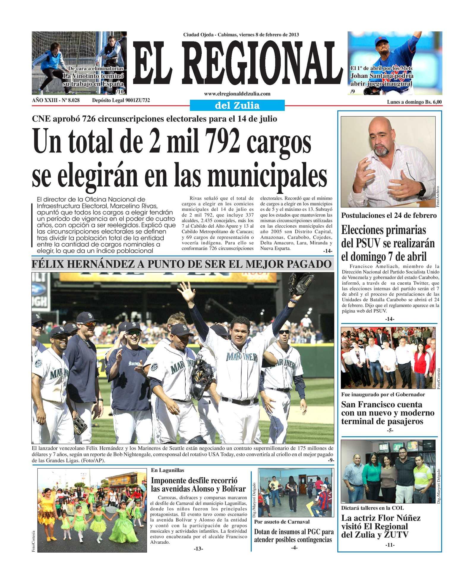Calaméo - El Regional del Zulia 08-02-2013