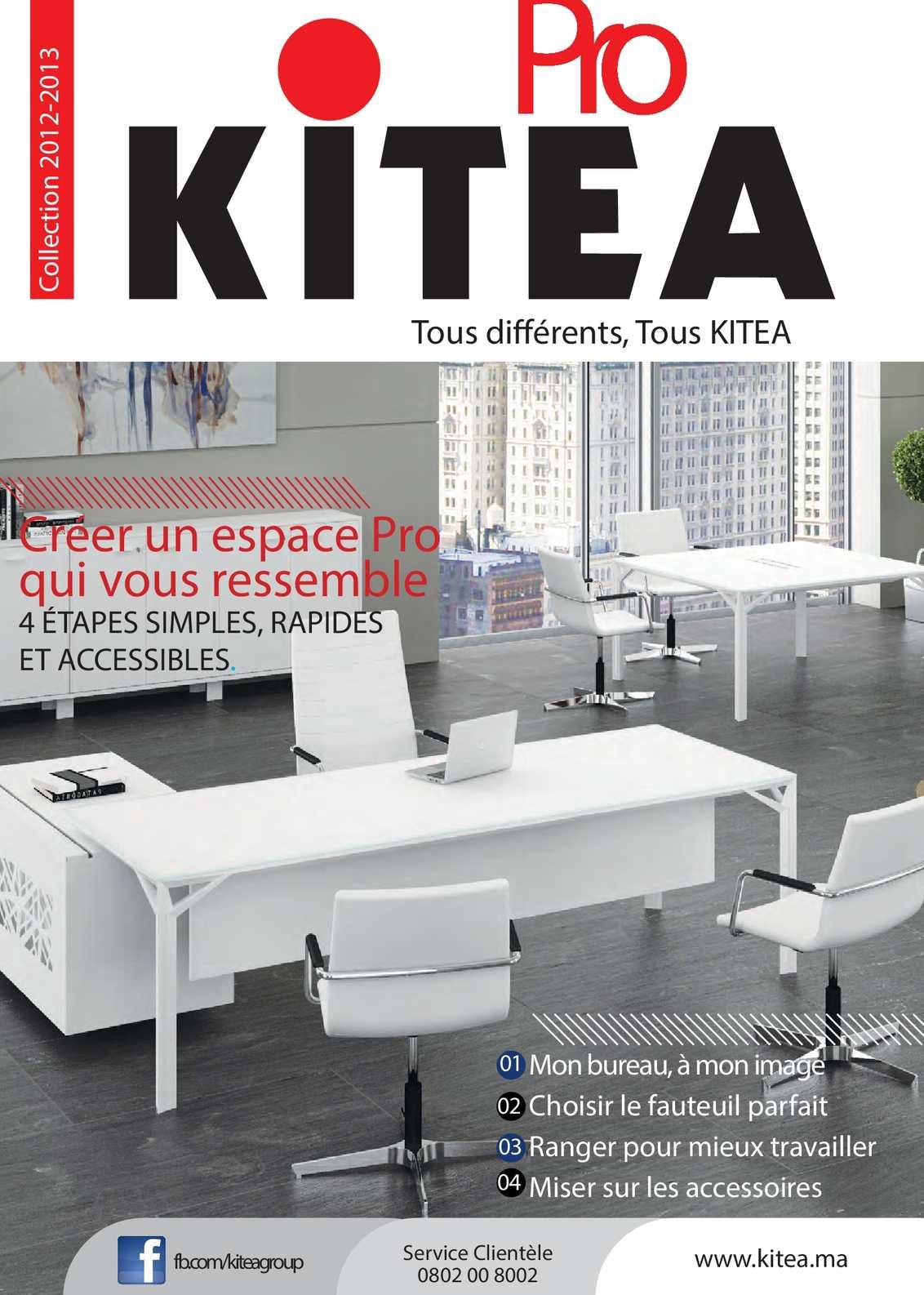 Calam o collection pro kitea 2012 2013 for Bureau kitea