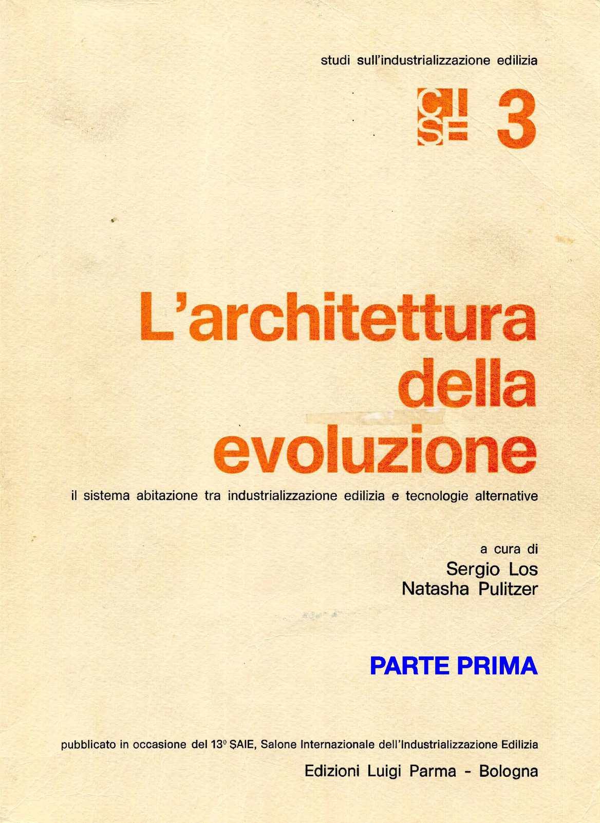 L'ARCHITETTURA DELL'EVOLUZIONE_PARTE 1