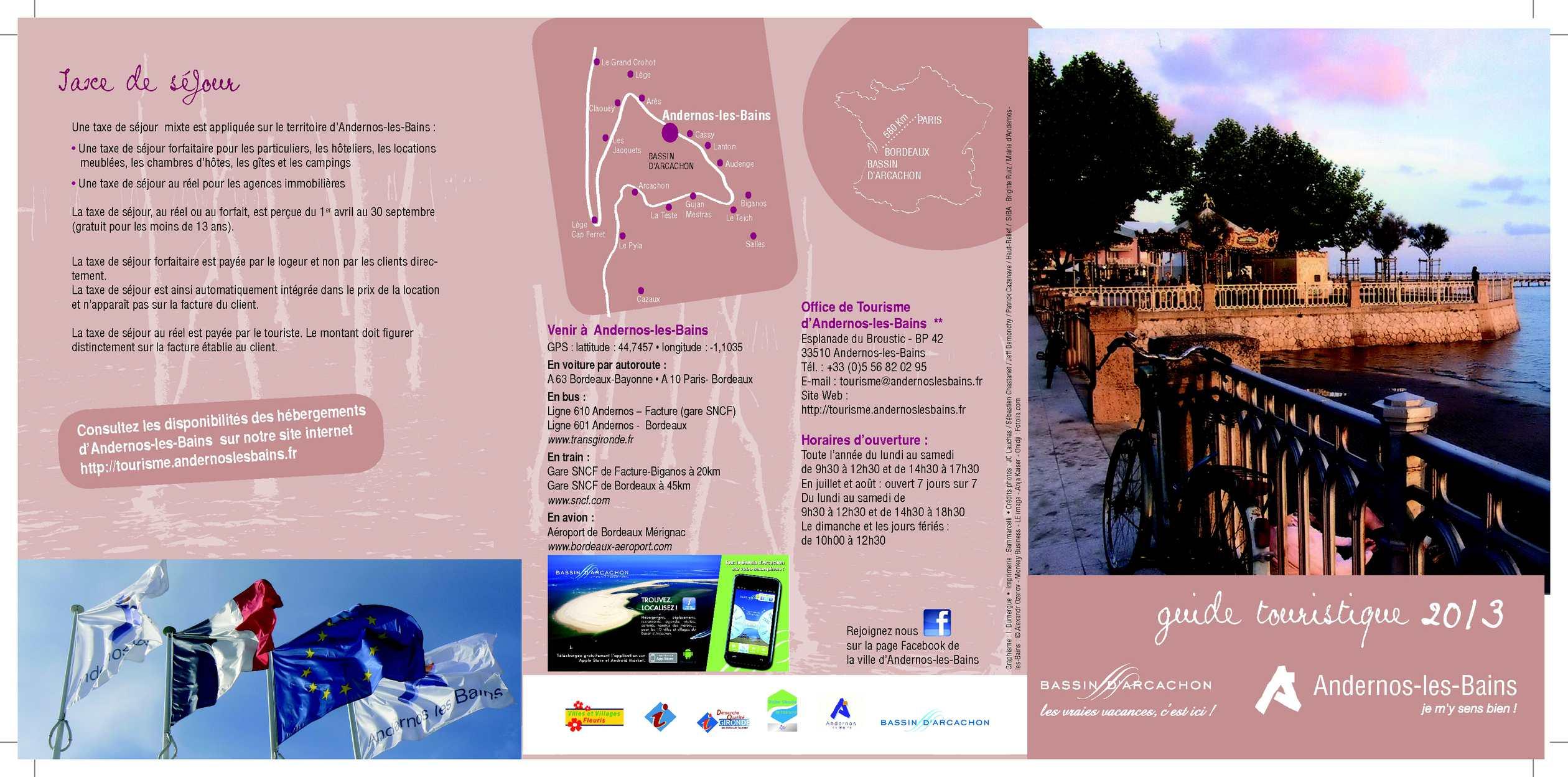 Calam o guide touristique 2013 - Office de tourisme biganos ...