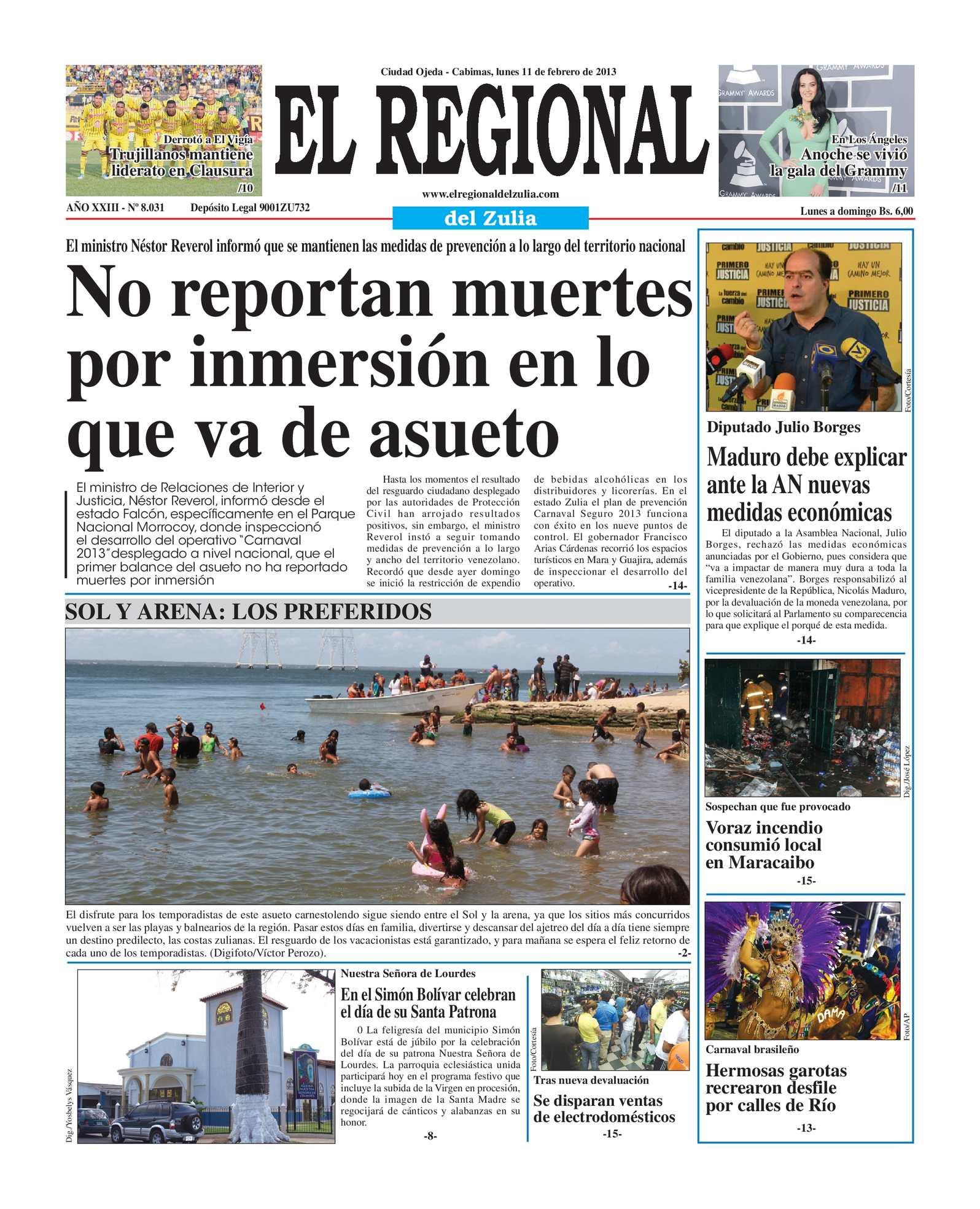 Calaméo - El Regional del Zulia 11-02-2013