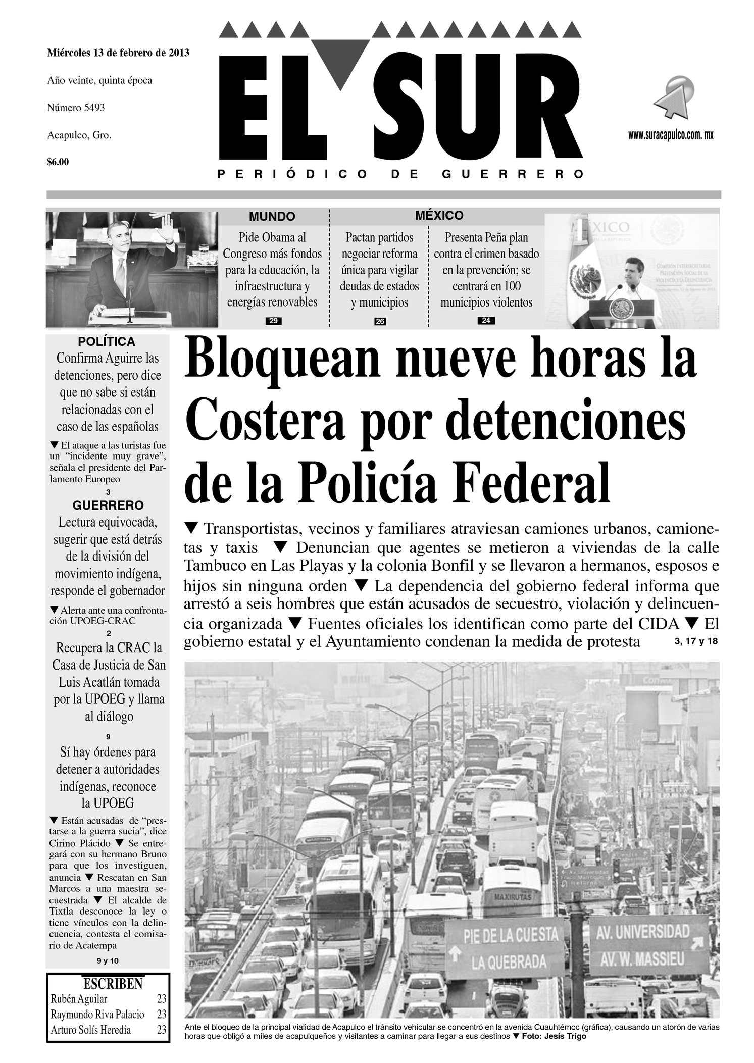 Calaméo - El Sur 13 de febrero de 2013 fefd44ec0d1cd