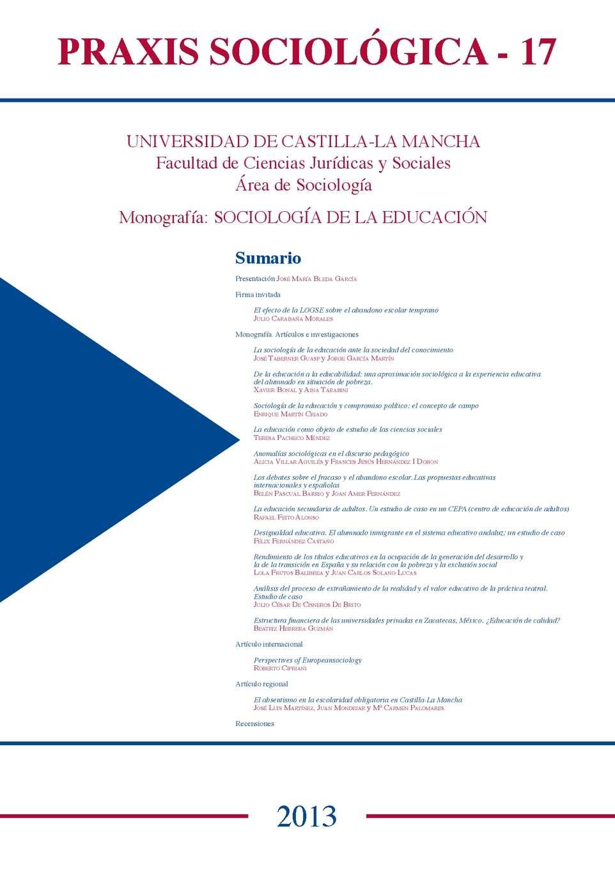Calaméo - Praxis Sociológica Nº 17