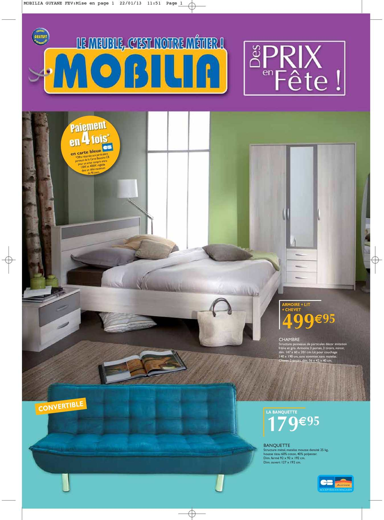 Calam o catalogue mobilia 2013 for Mobilia catalogo