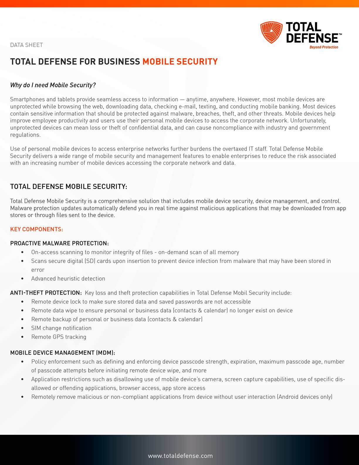 Calamo mobile security for business by totaldefense maxwellsz