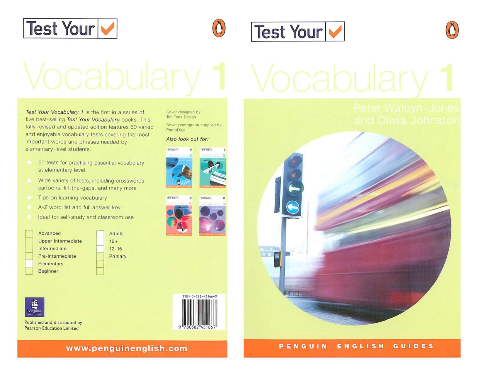 test 1 vocab Test your english vocabulary size, and measure how many words you know for children, adults and efl/esl learners.