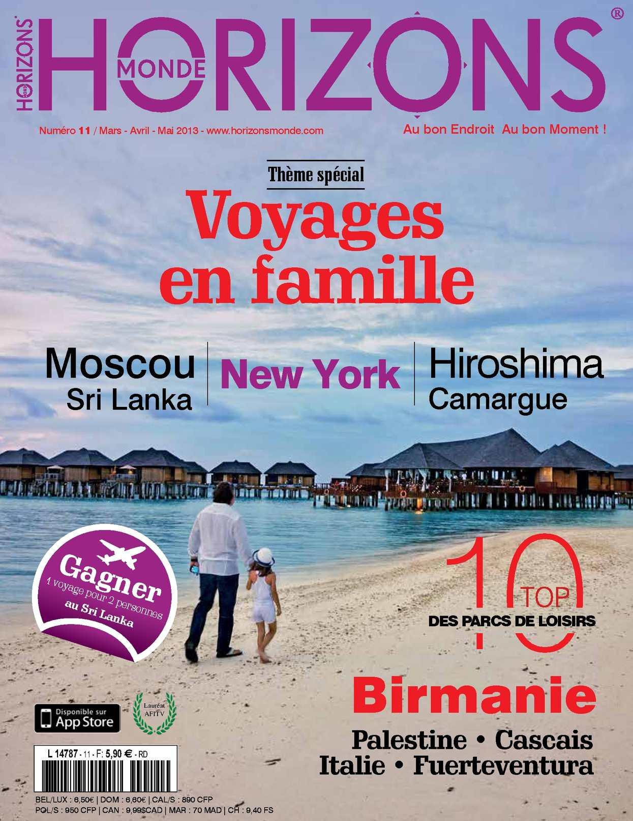 HORIZONS MONDE N°11 Printemps 2013