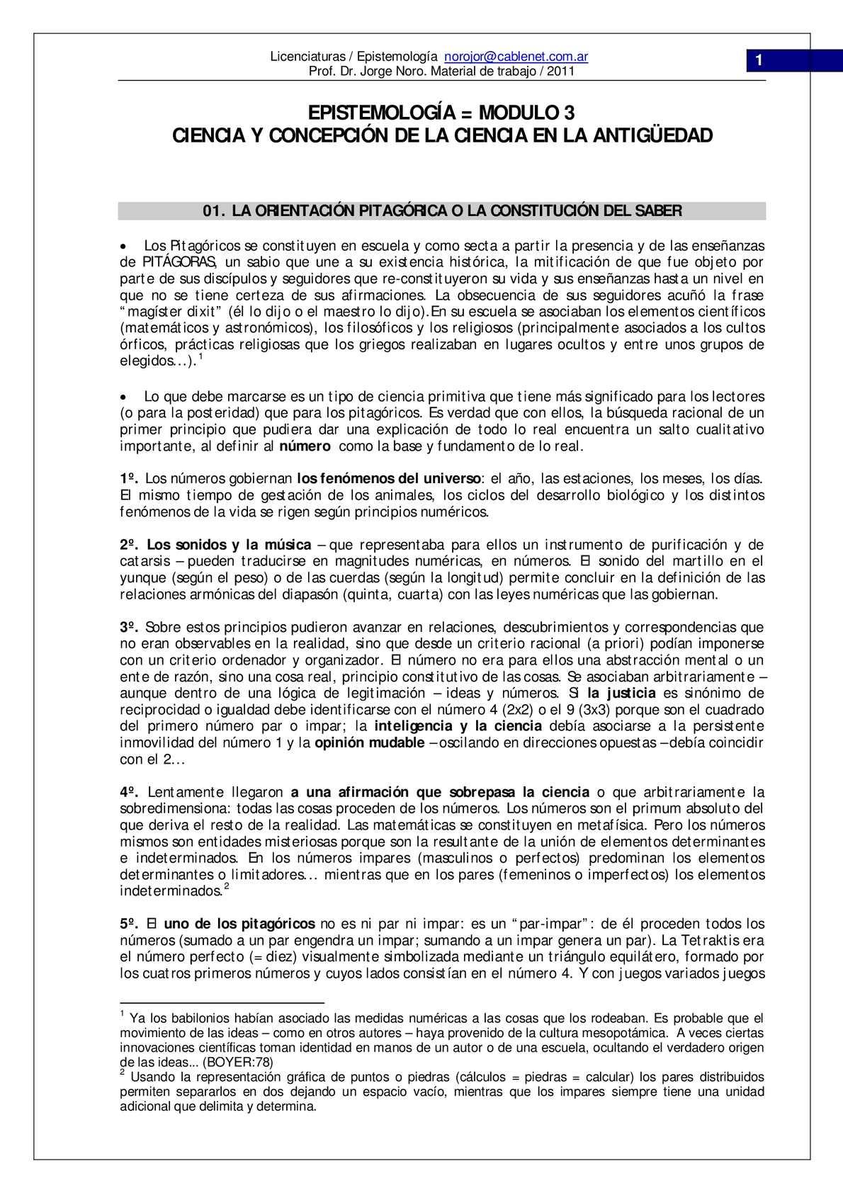 Calaméo - 045. CURSO DE EPISTEMOLOGIA. MODULO 3: CIENCIA EN LA ...