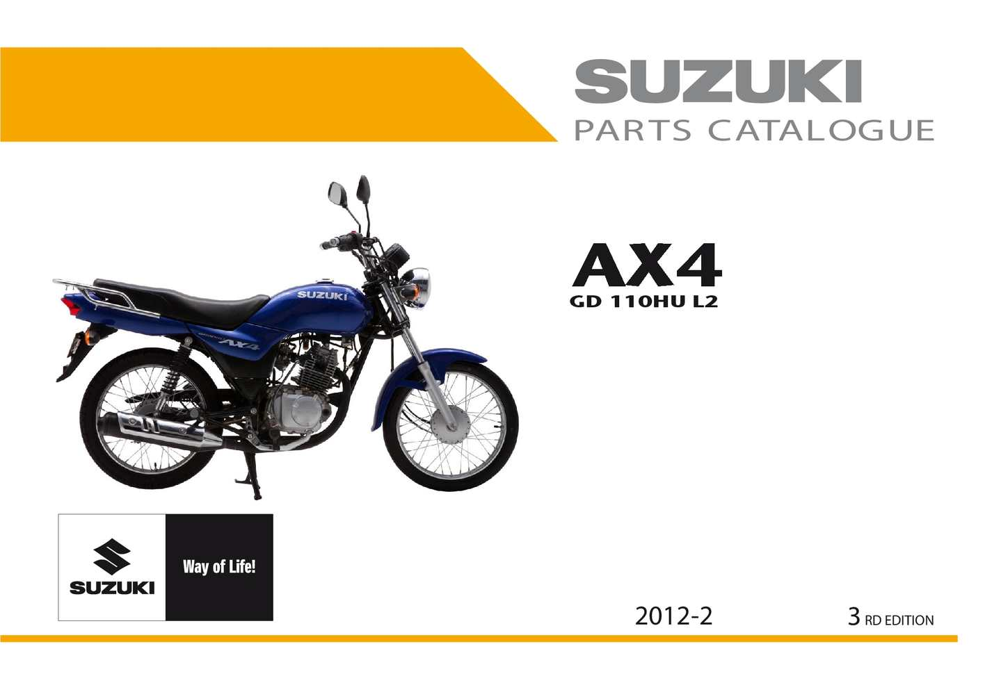 calam o catalogo partes ax 4 rh calameo com Suzuki 125 ATV Suzuki 125 4 Stroke