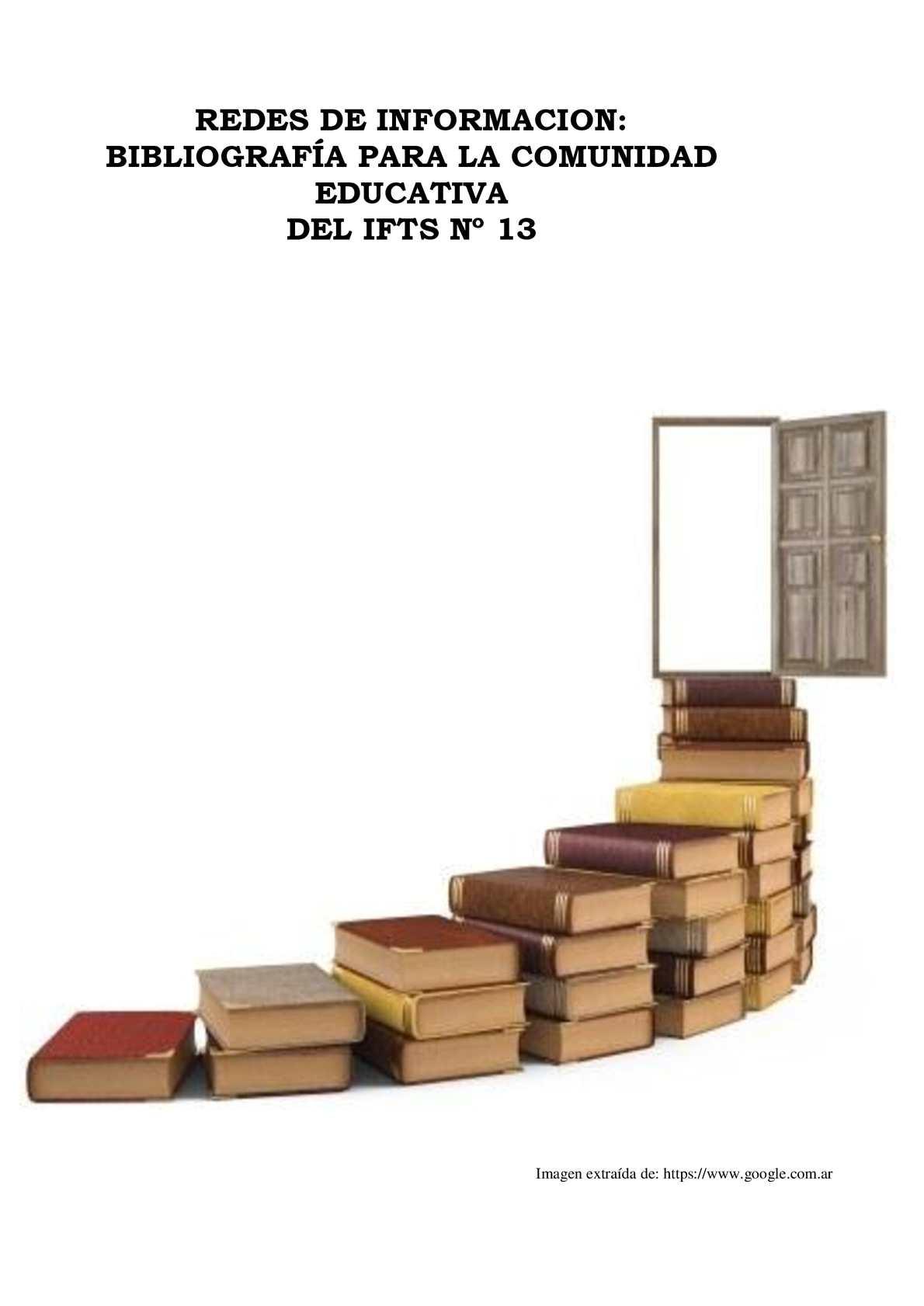 Calam O Redes De Informaci N Bibliograf A Para La Comunidad  # Muebles Tiratel
