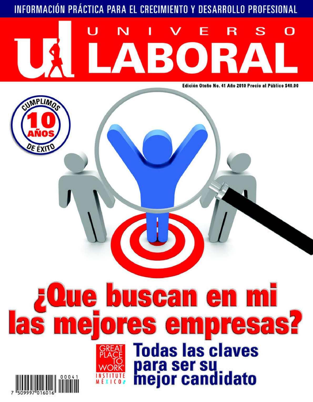 Calaméo - Revista Universo Laboral 41