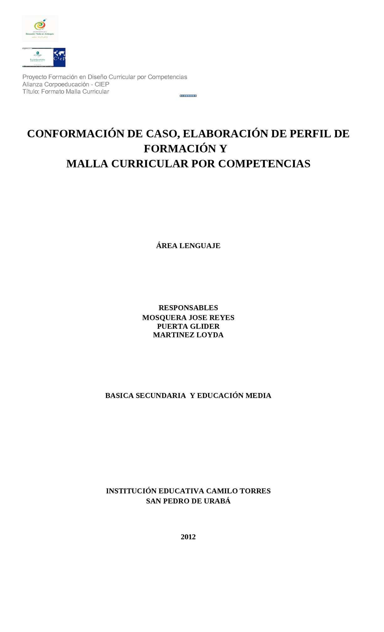 Calaméo - Malla Español Completa
