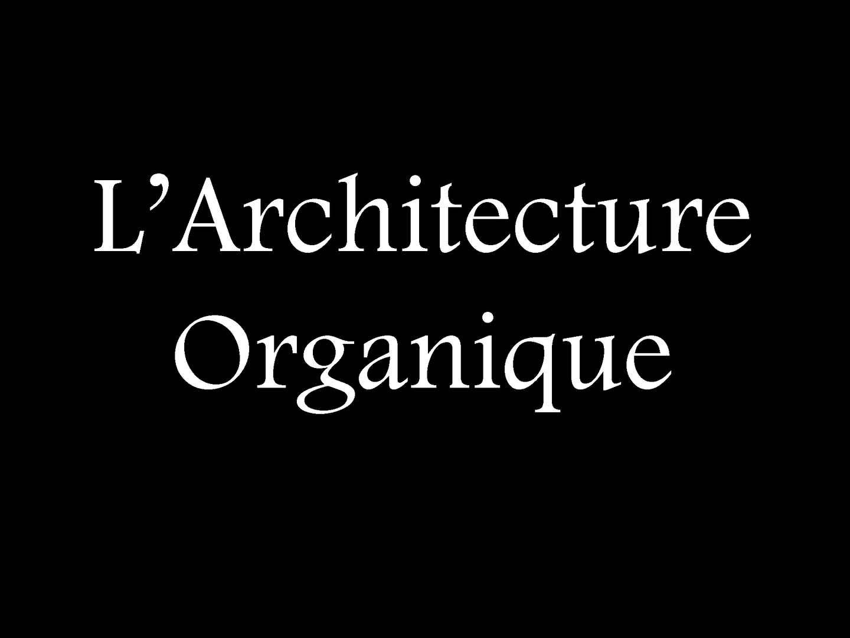 Calam o l architecture - Architecture organique frank lloyd wright ...