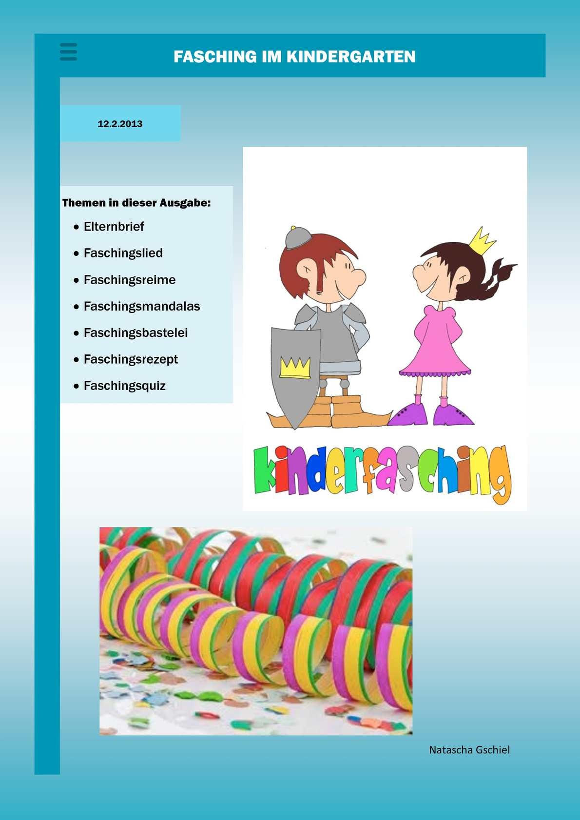 Calameo Kindergartenzeitung