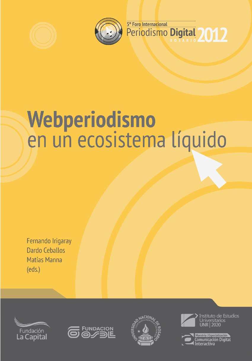 Webperiodismo en un ecosistema líquido