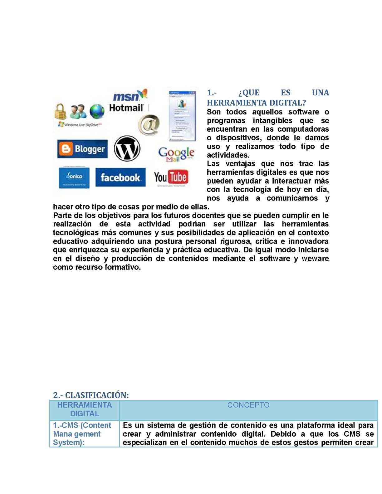 Calaméo - Herramientas Digitales