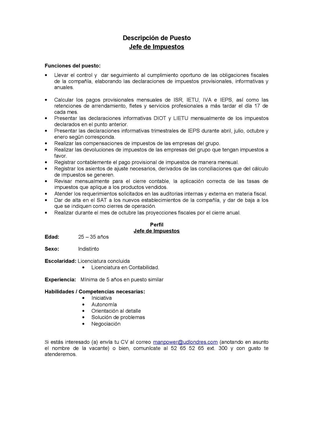 Calaméo - JEFE DE IMPUESTOS