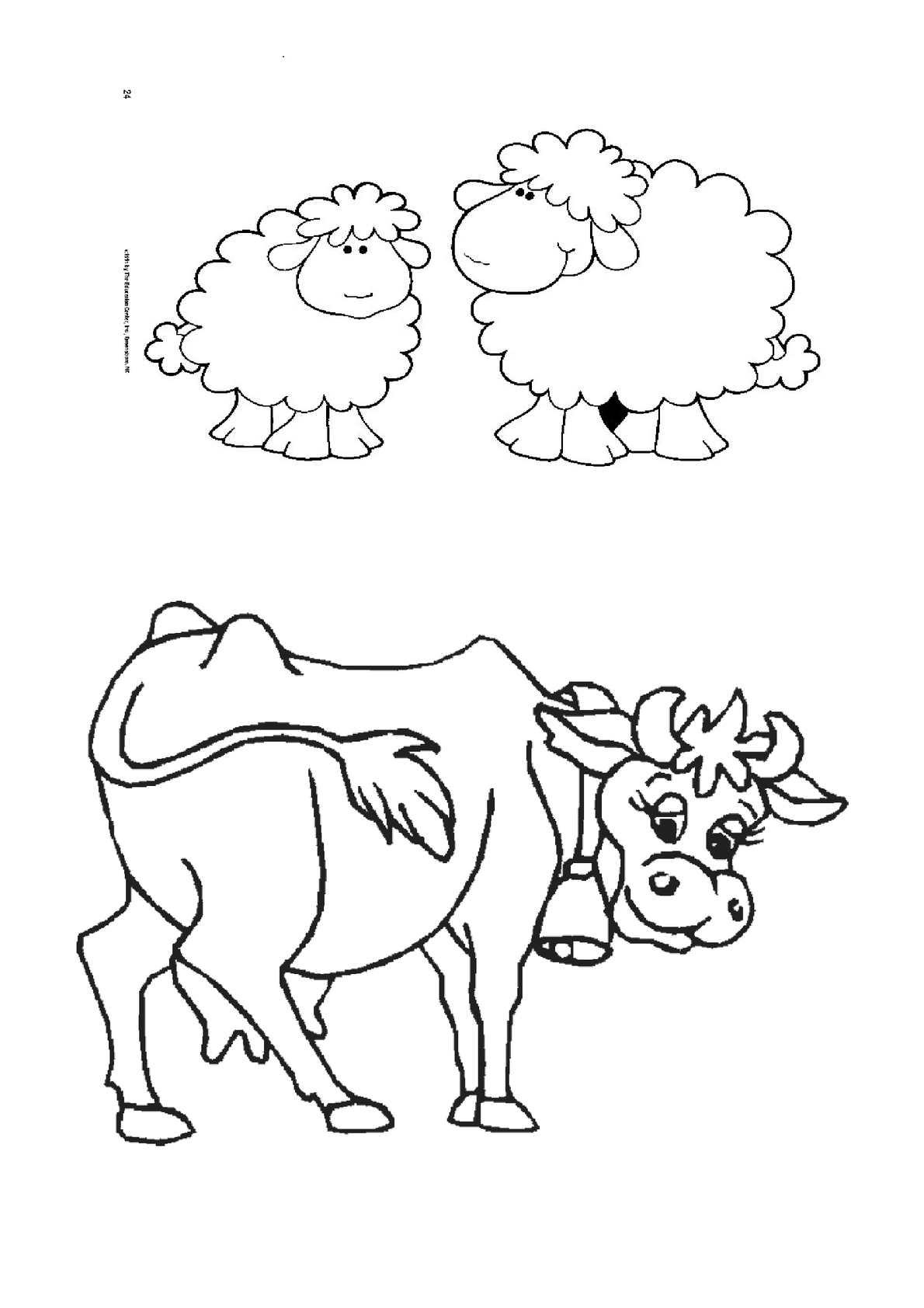 Los Animales de la Granja para colorear - CALAMEO Downloader