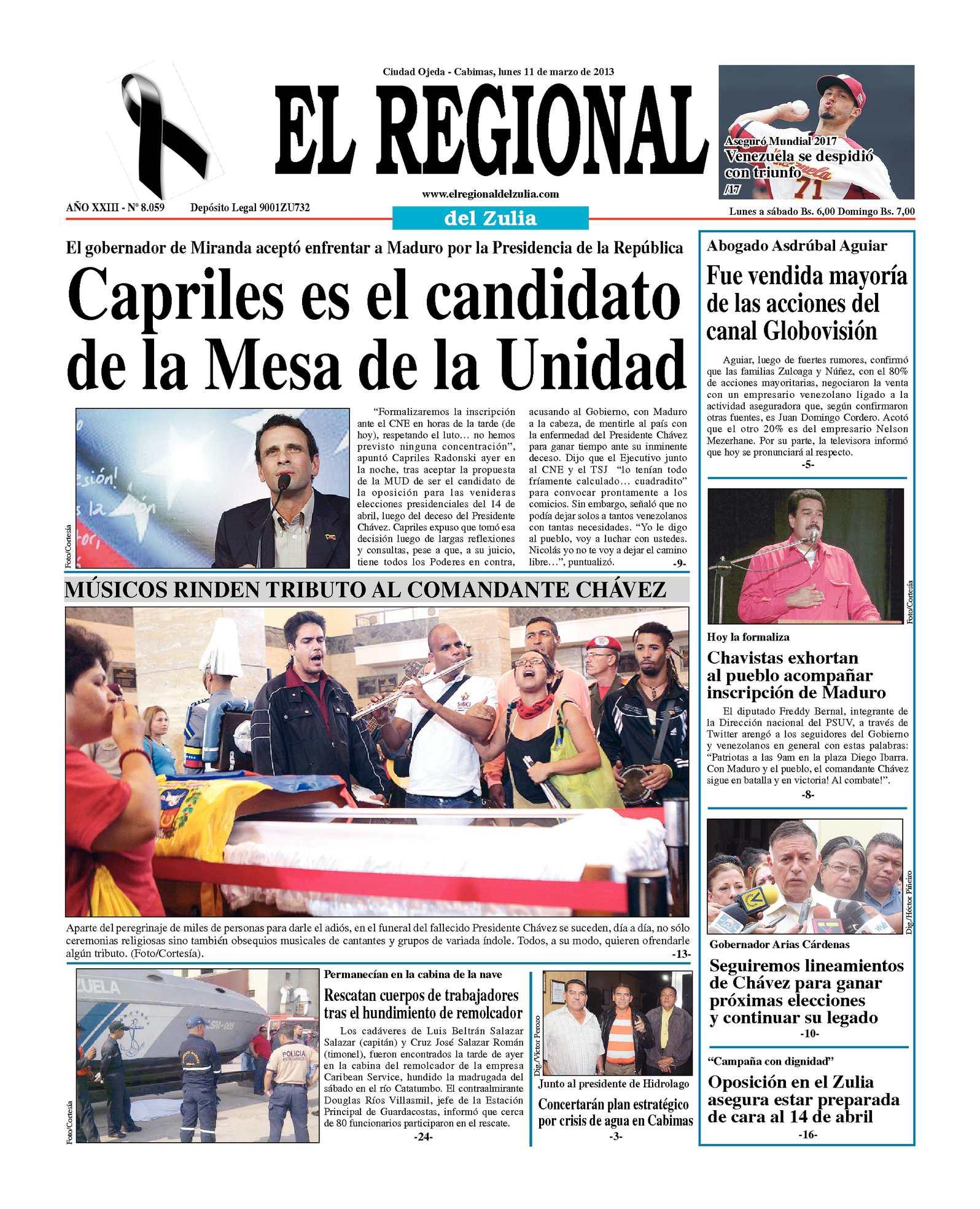 Calaméo - El Regional del Zulia 11-03-2013