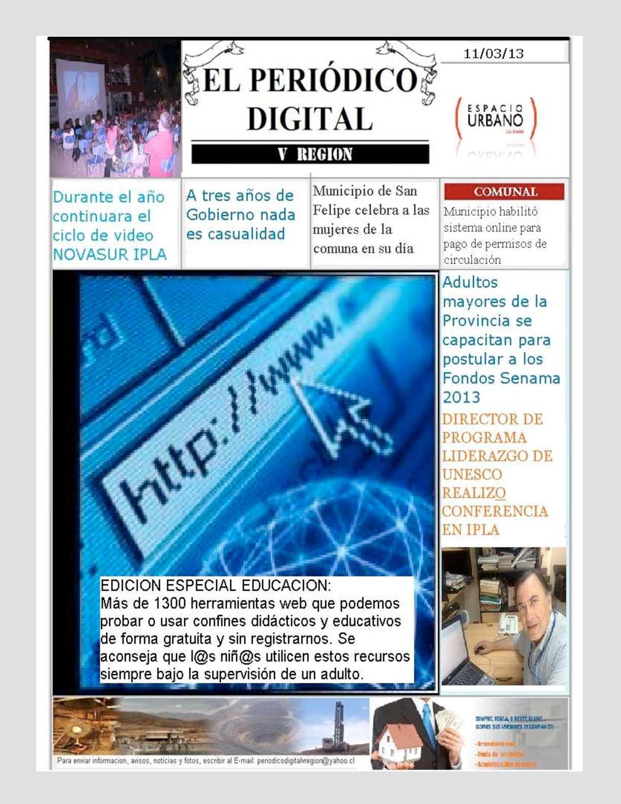 Calaméo - Periodico Digital V Region 11/3/13
