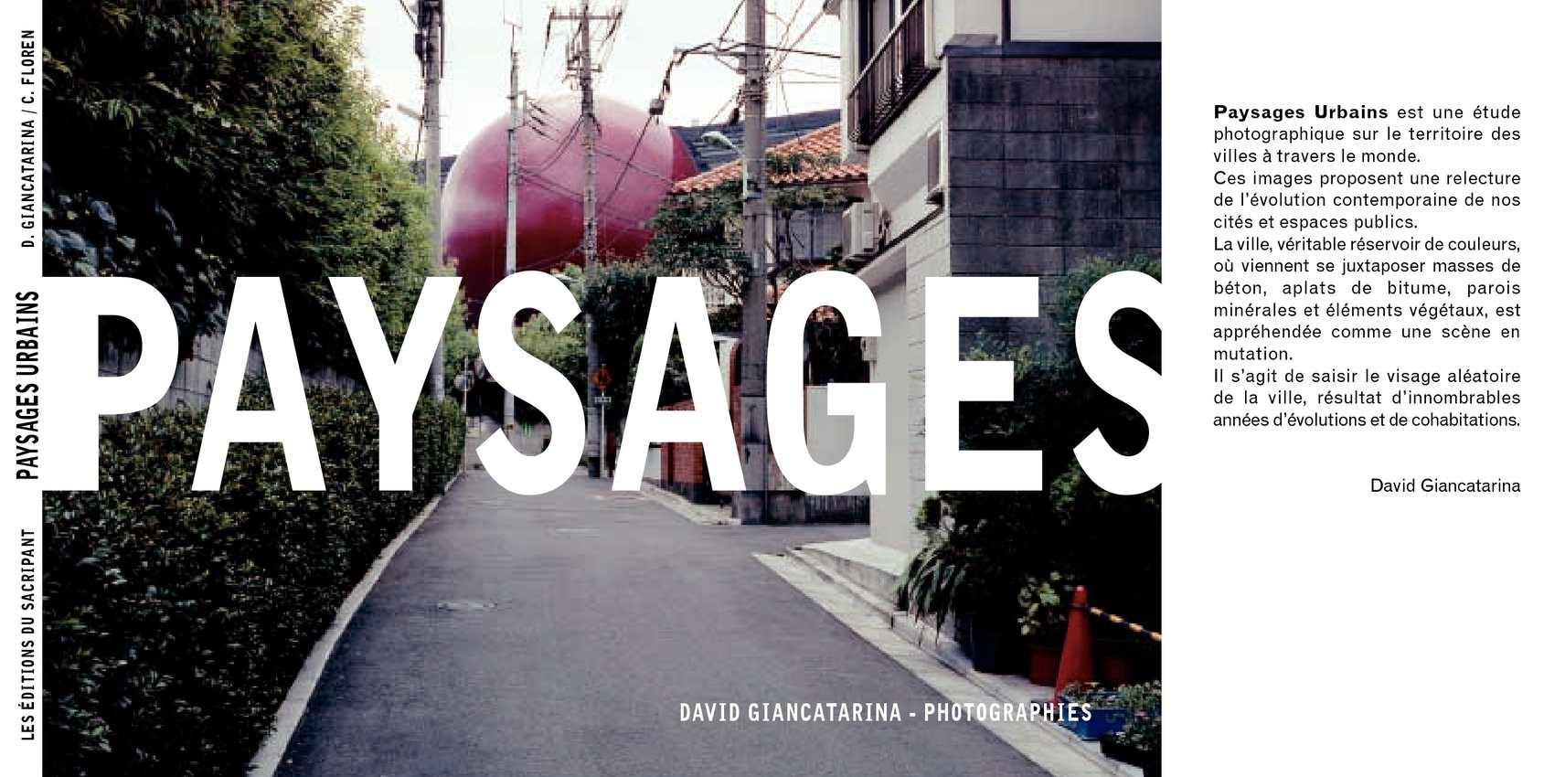 livre de paysages urbain