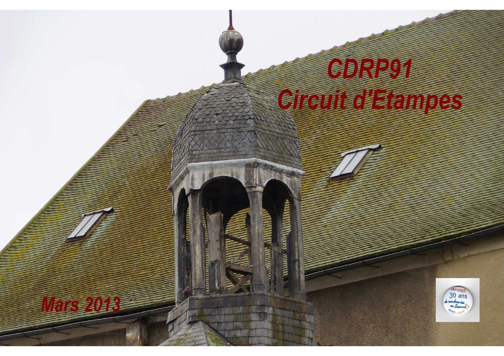 CDRP91 - Circuit d'Etampes