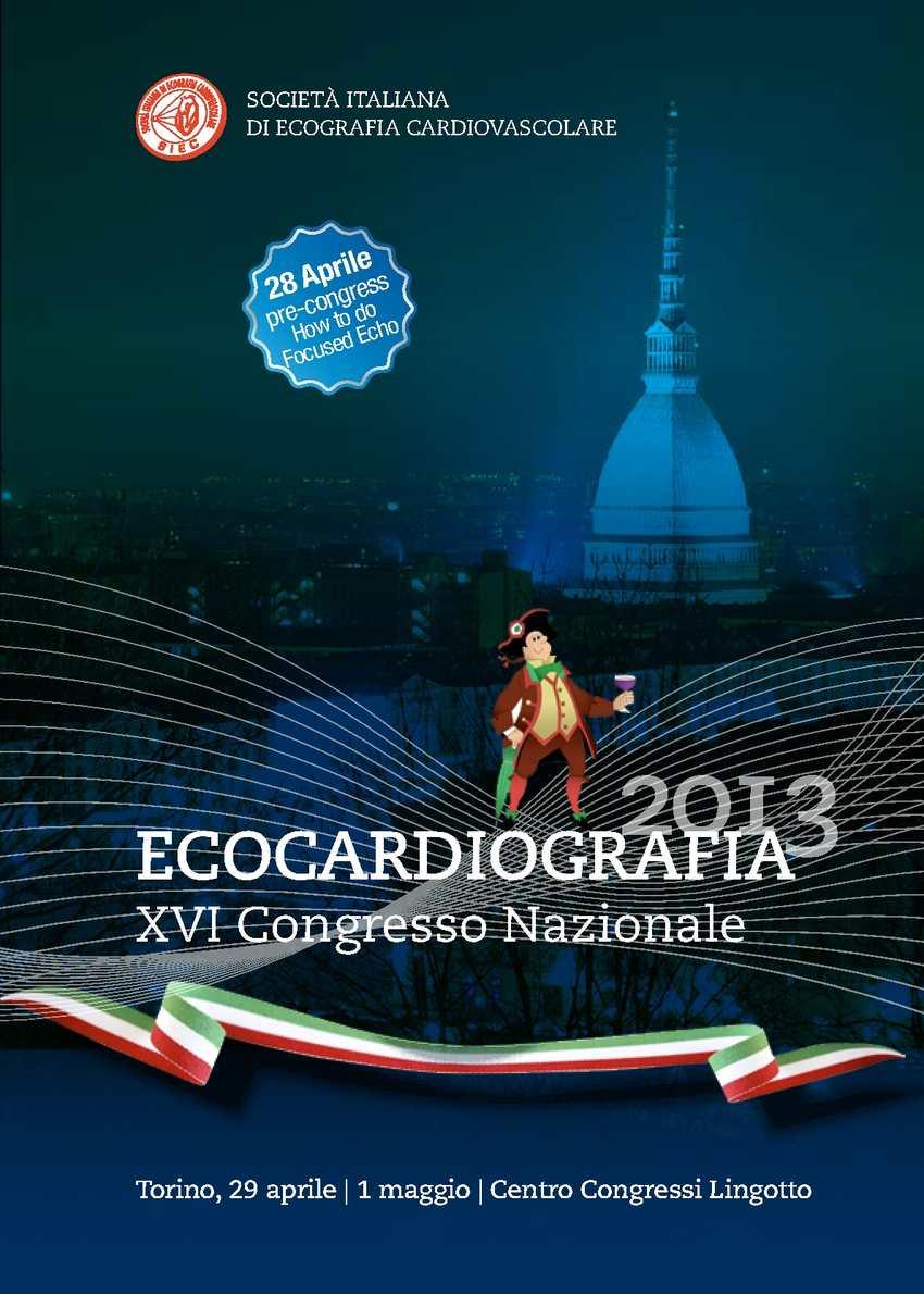 Ecocardiografia 2013 - Congresso Nazionale SIEC - programma preliminare