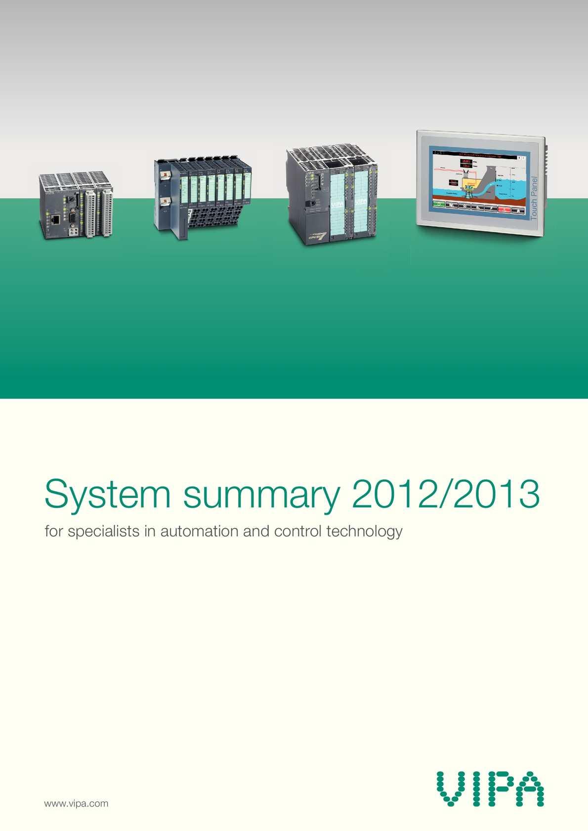 Calaméo - VIPA - System Summary