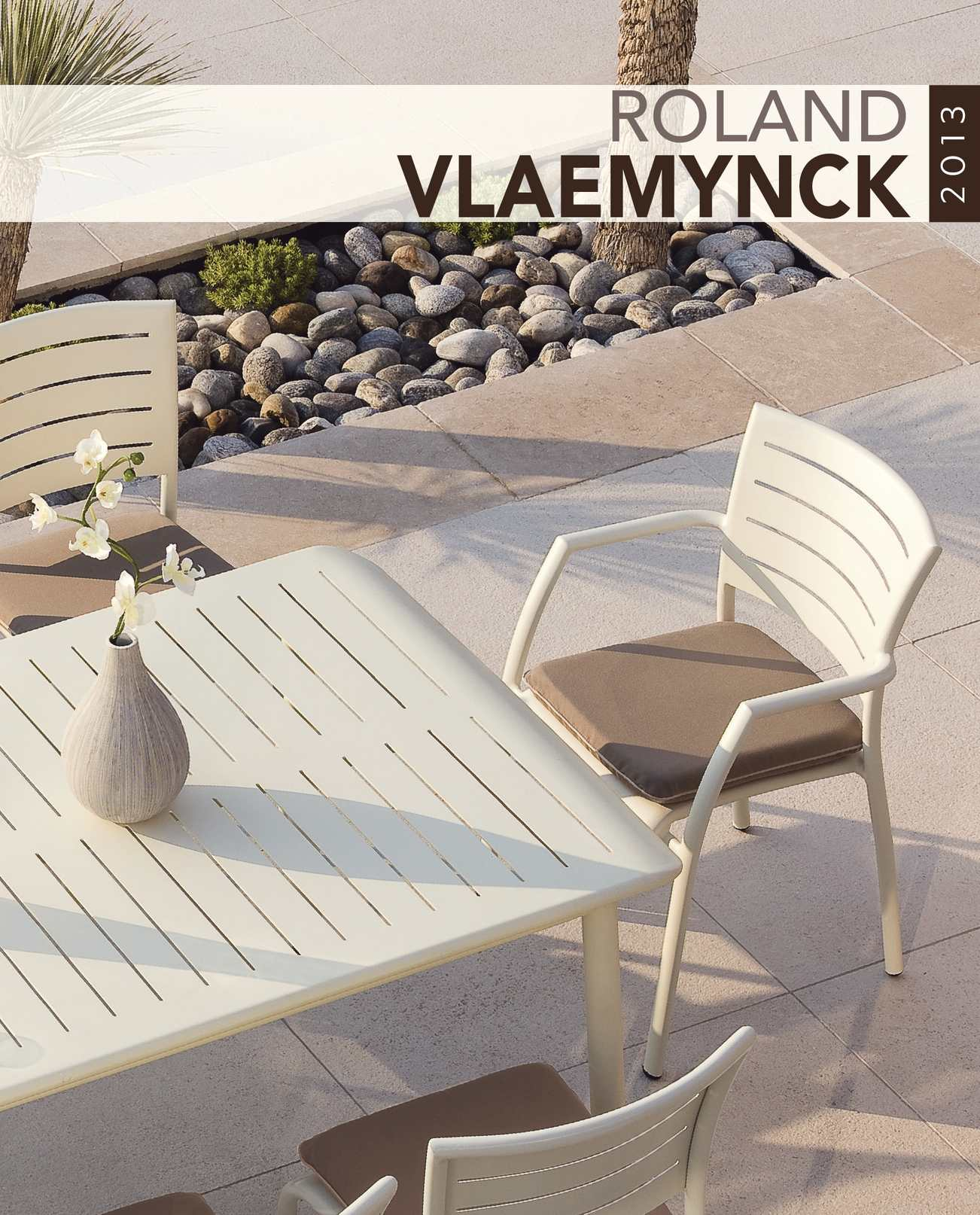 Calaméo - Roland VLAEMYNCK outdoor furniture catalogue
