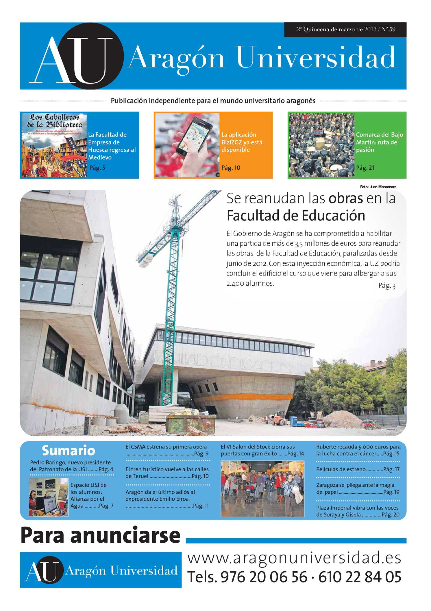 Calaméo - Aragón Universidad Nº 59