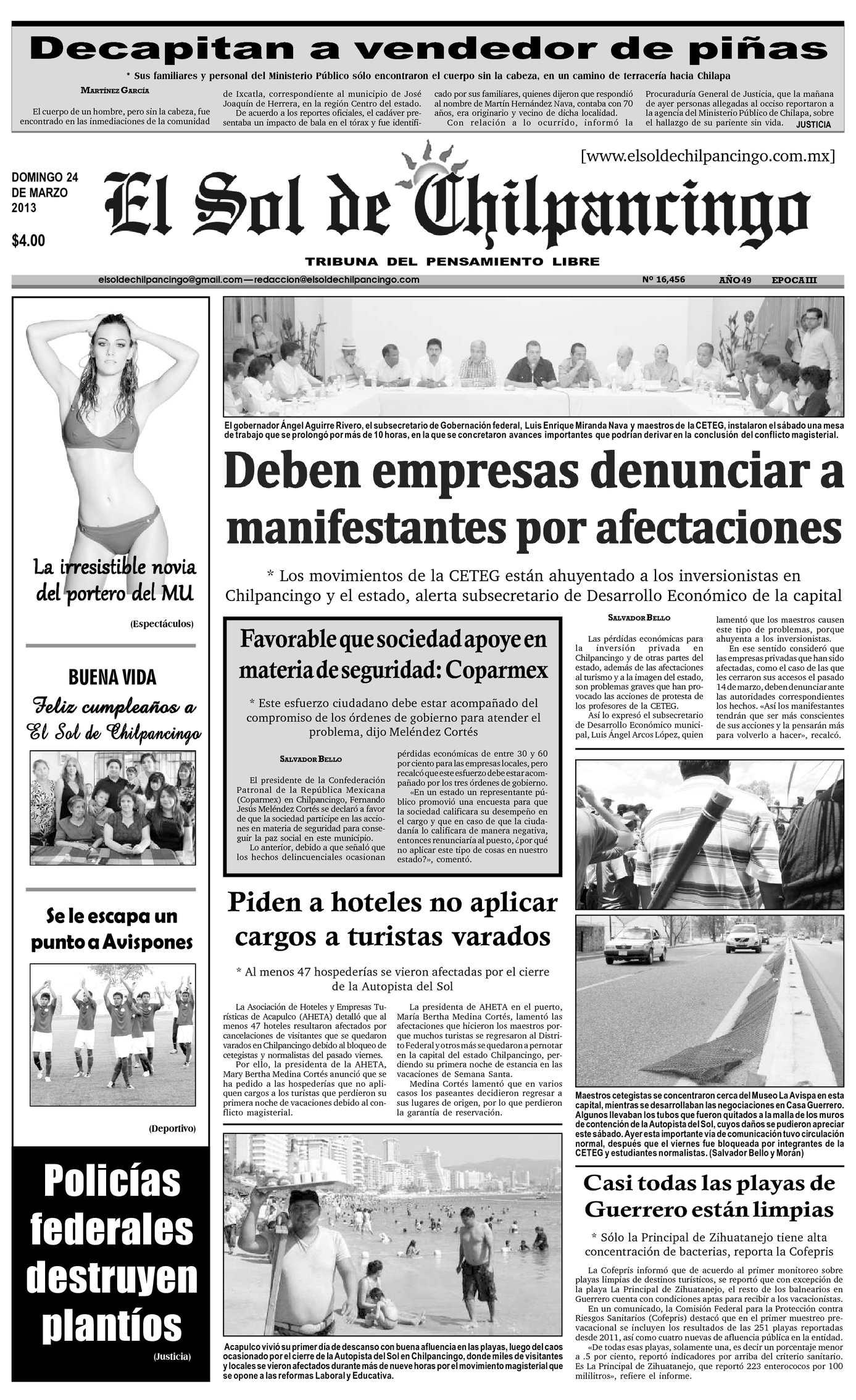 Calaméo - El Sol de Chilpancingo - 24 Marzo 2013