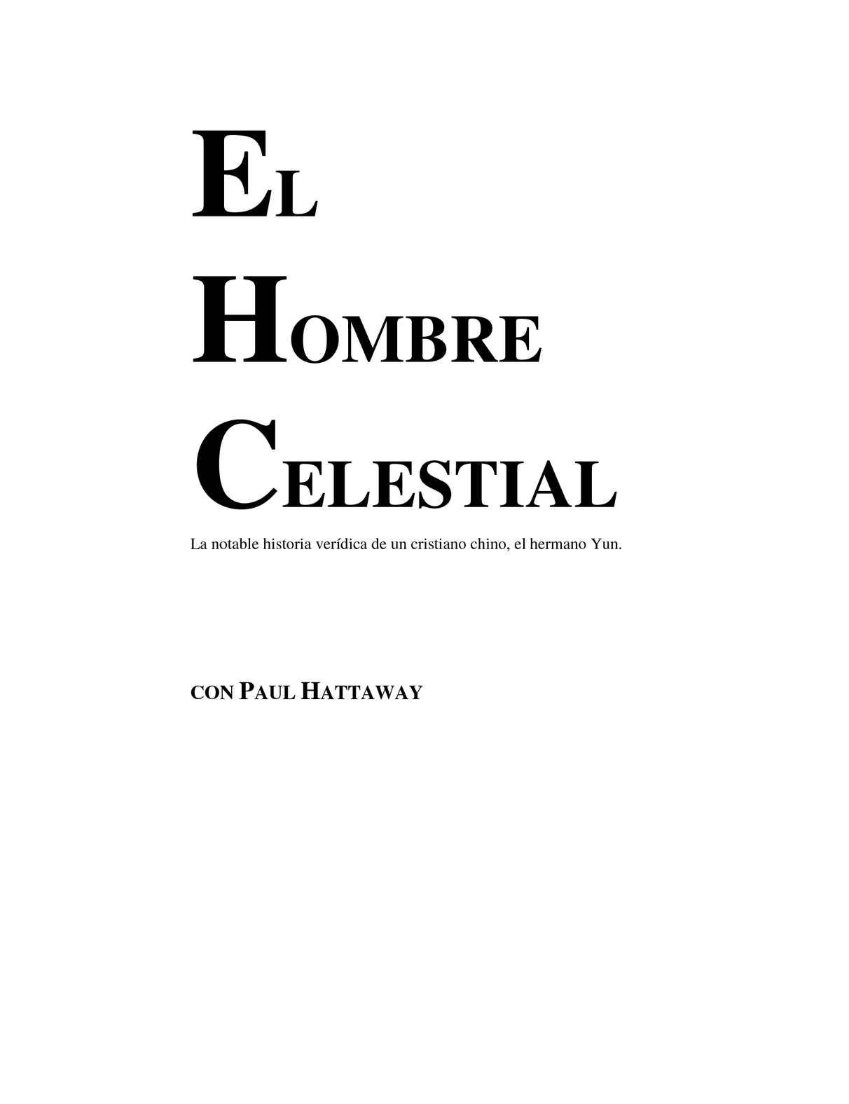 Calaméo - EL HOMBRE CELESTIAL