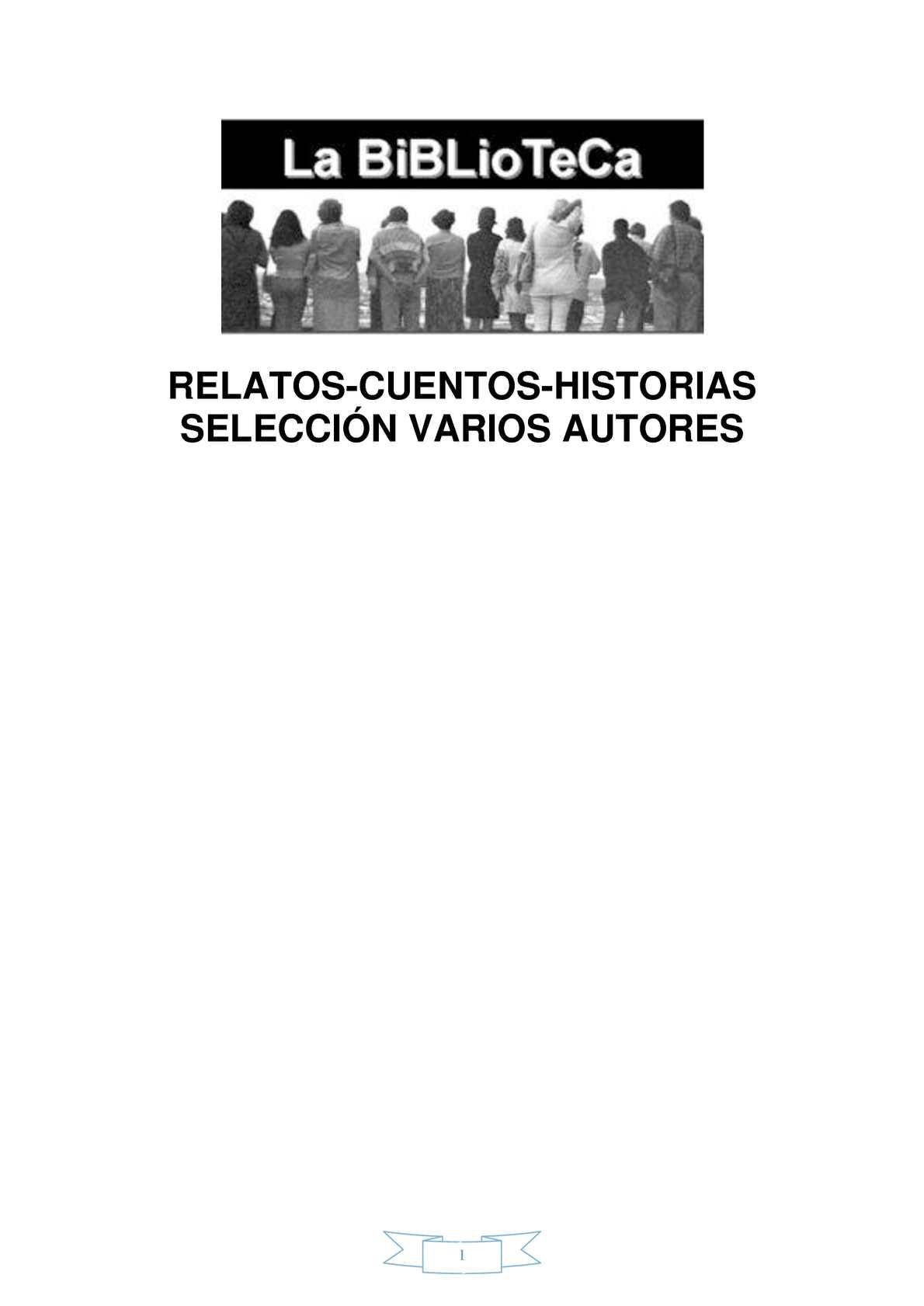 Calaméo - VARIOS AUTORES RELATOS CUENTOS HISTORIAS