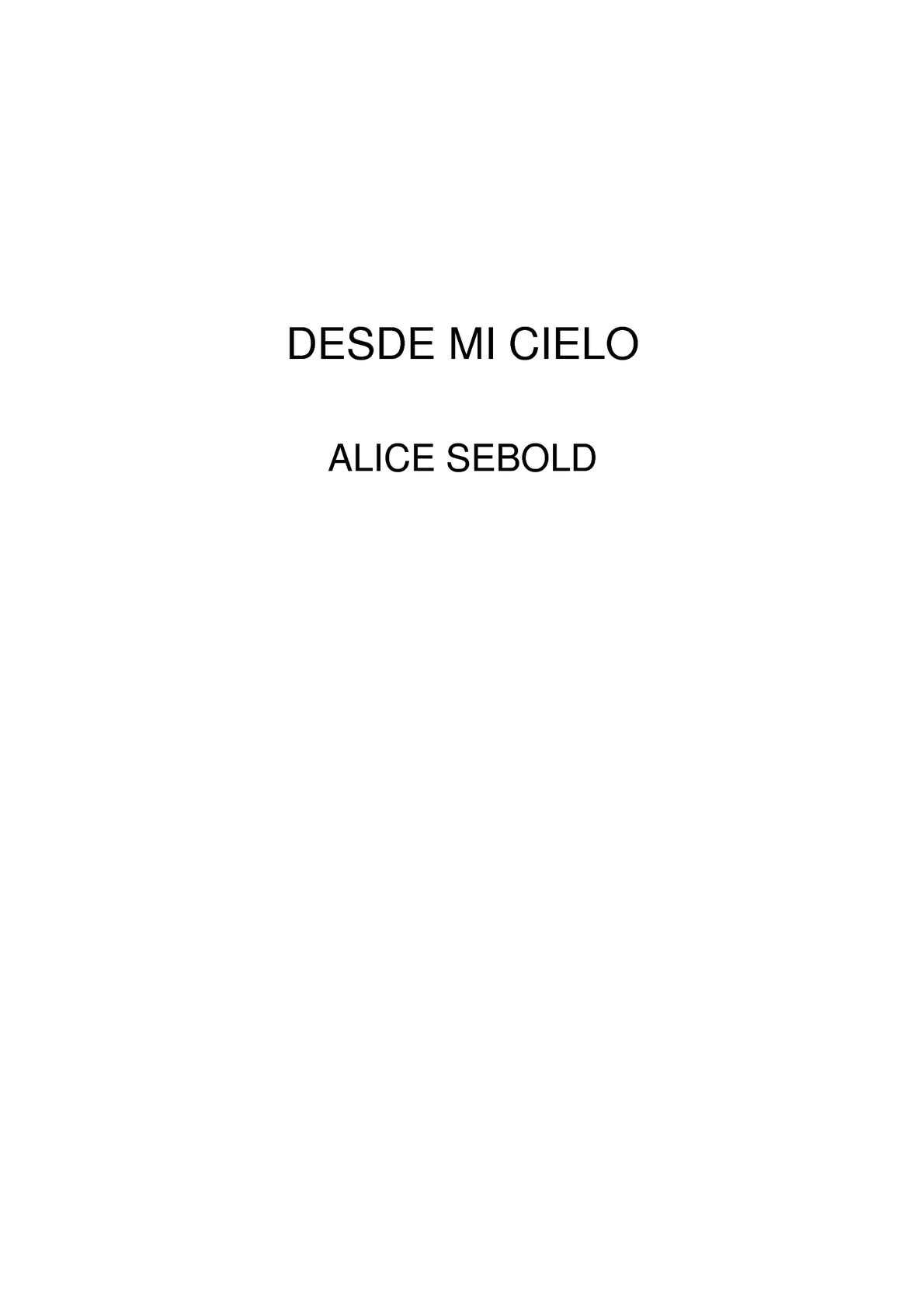 Calaméo - Desde mi cielo libro pdf