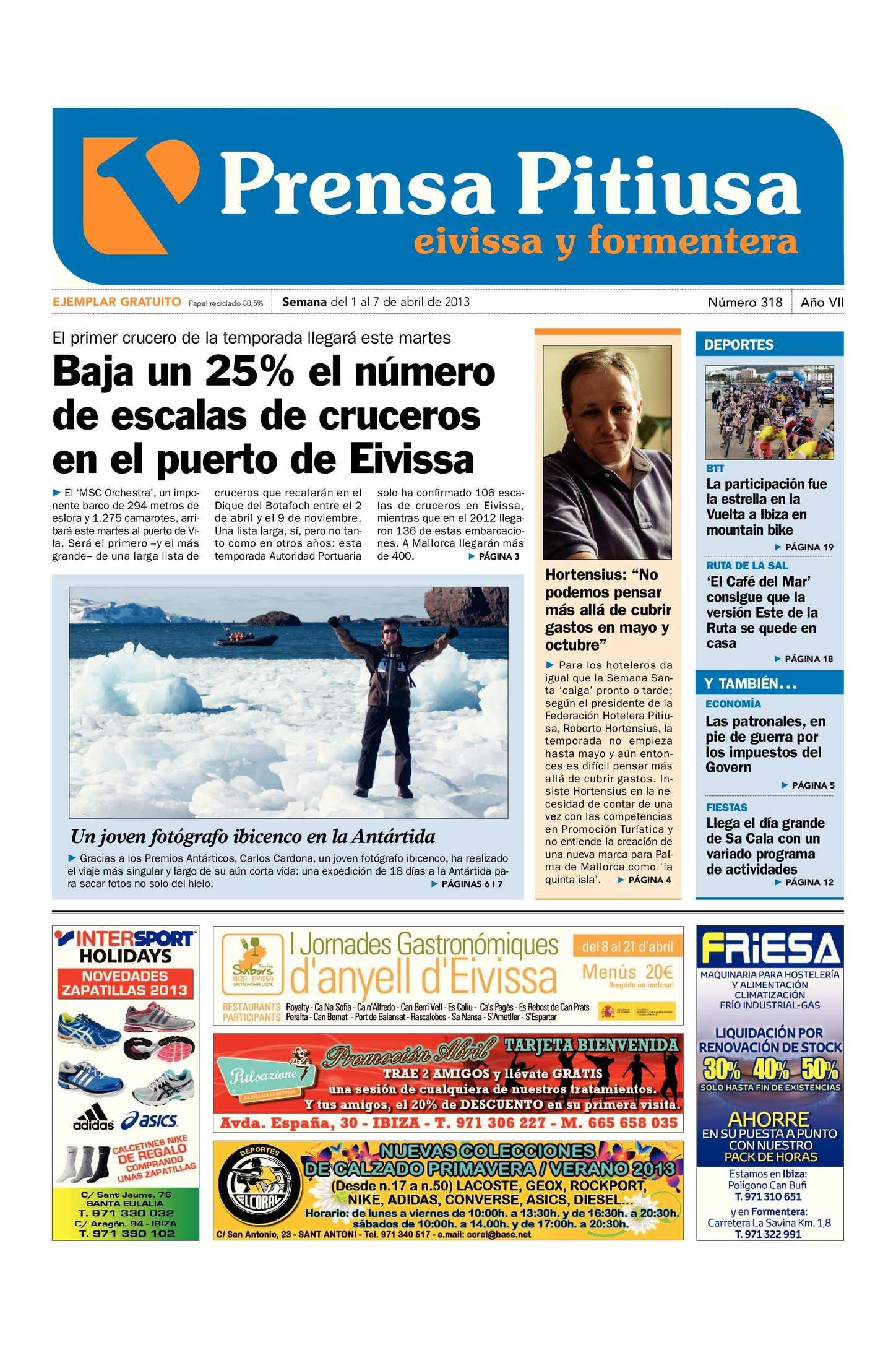Calaméo - Prensa Pitiusa edición 318