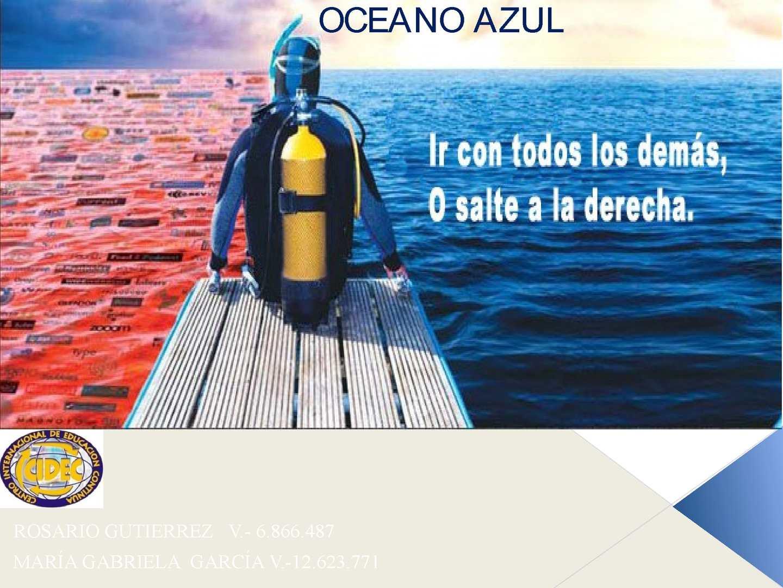 Calaméo - PRESENTACIÓN ESTRATEGIA DEL OCEANO AZUL 0a545754c0