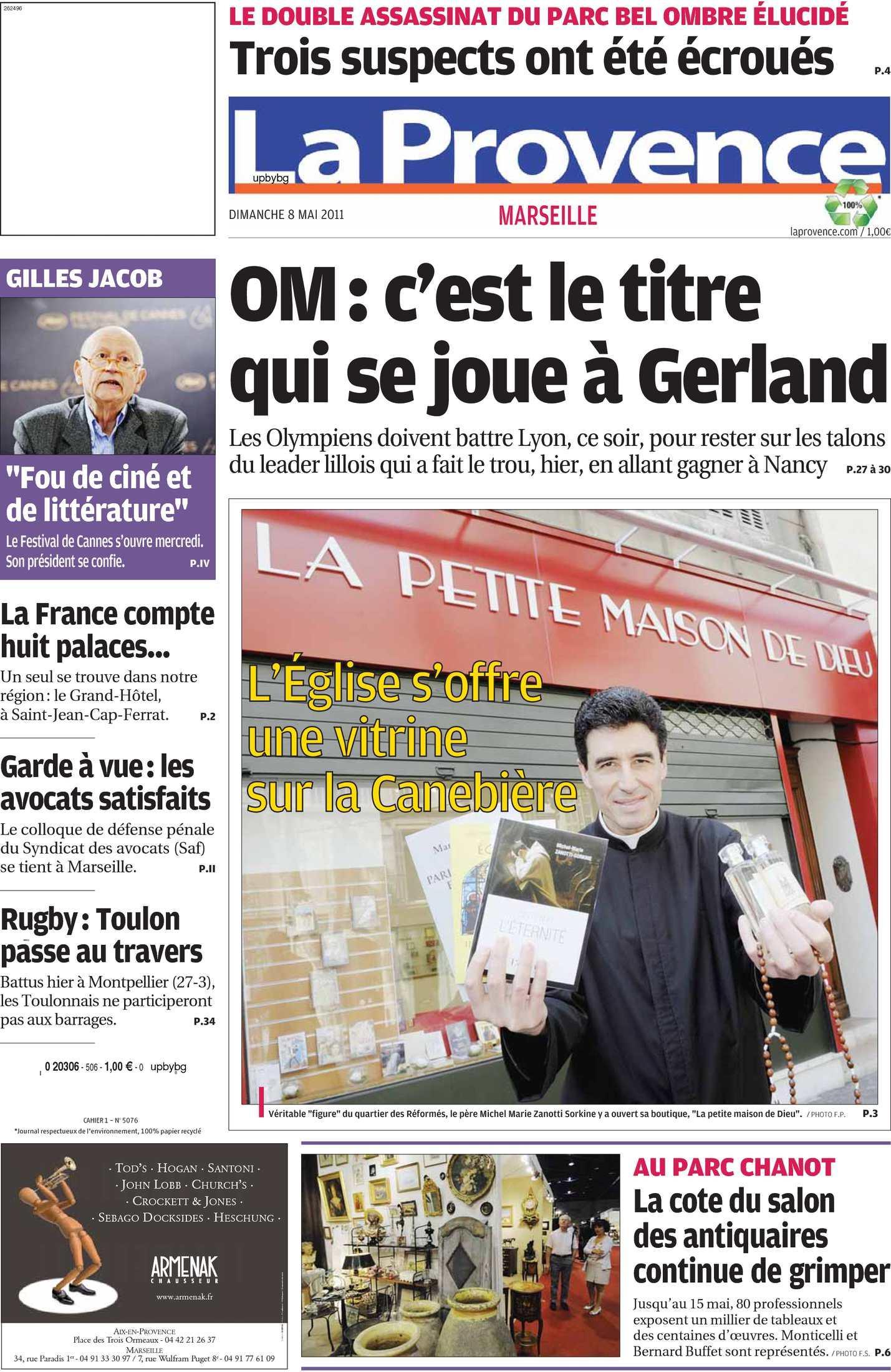 Foyer Logement Lyon Salon De Provence : Calaméo la provence dimanche mai