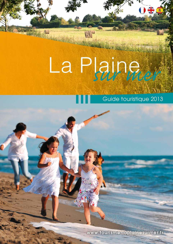 Calam o guide touristique 2013 - La plaine sur mer office de tourisme ...