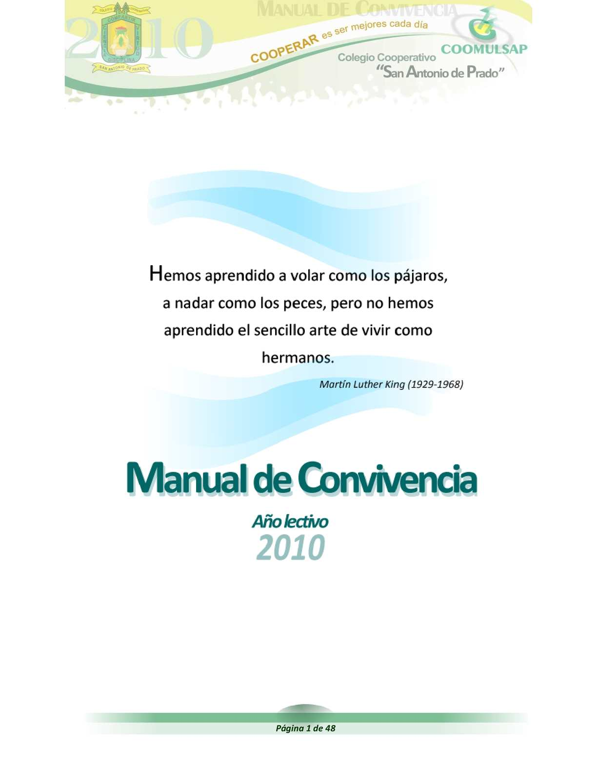 Calaméo - Manual de convivencia Colegio Cooperativo \