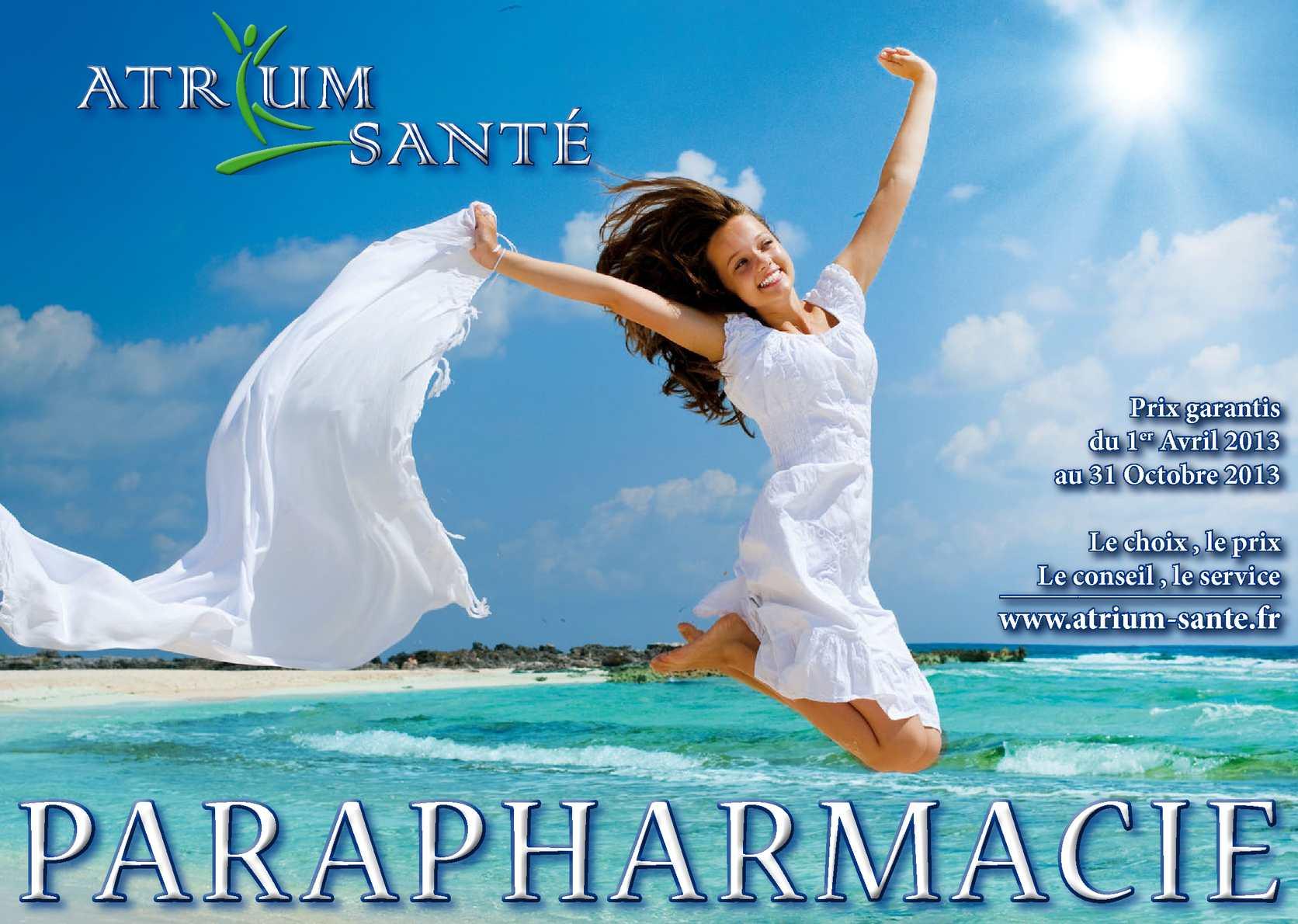 Calaméo - Catalogue parapharmacie 2013 - Printemps   Eté 62833361721