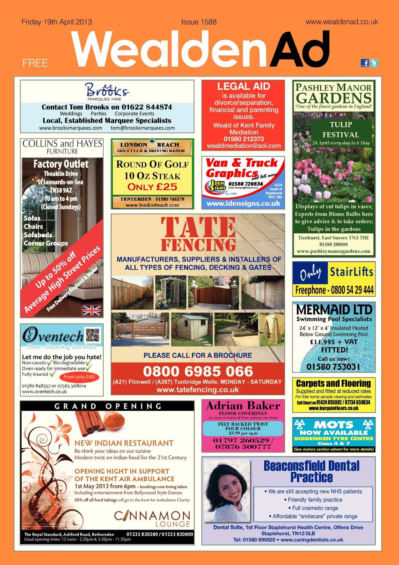 Calaméo Wealden Advertiser 19 04 2013
