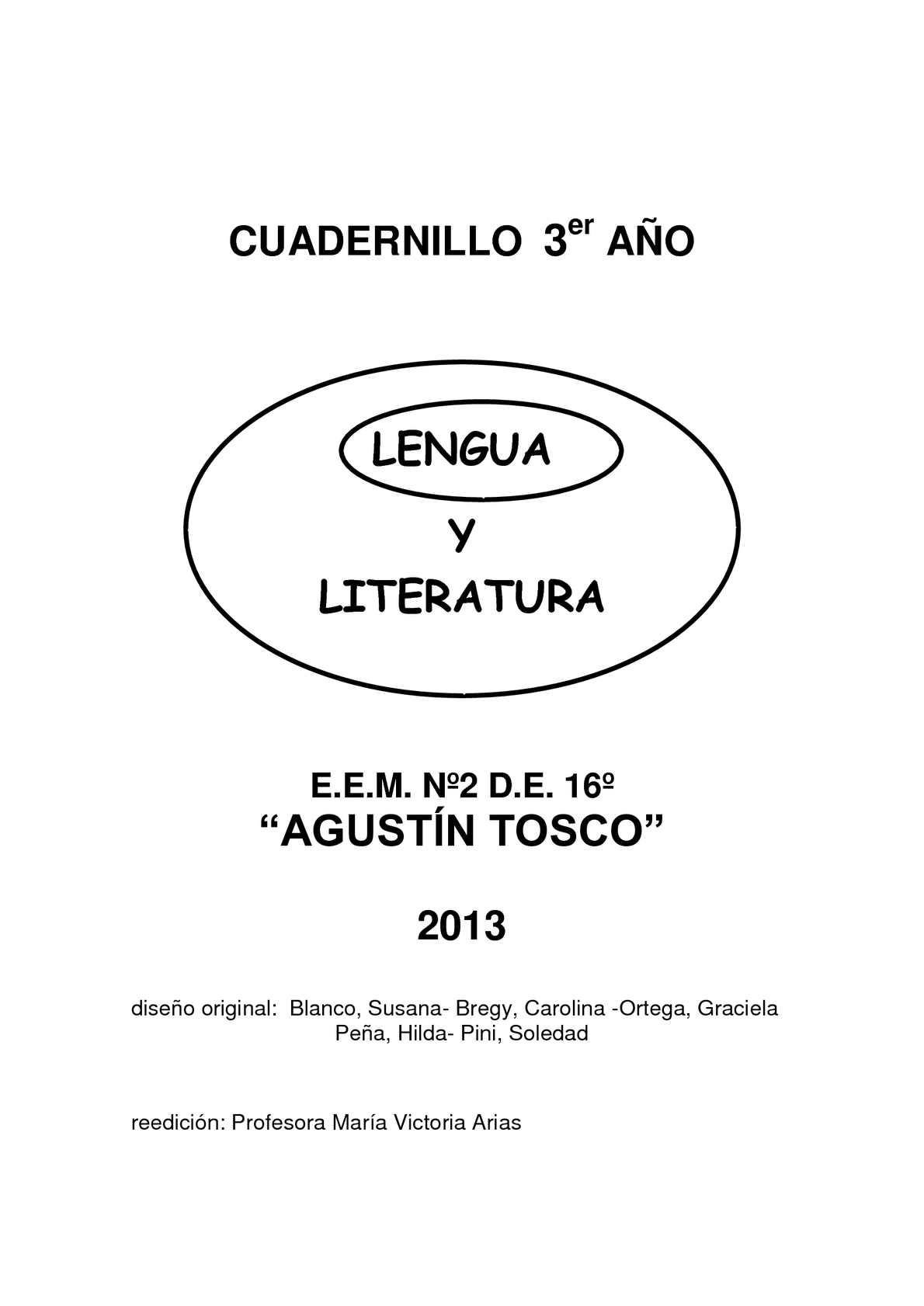 Calaméo - LENGUA - 3er AÑO
