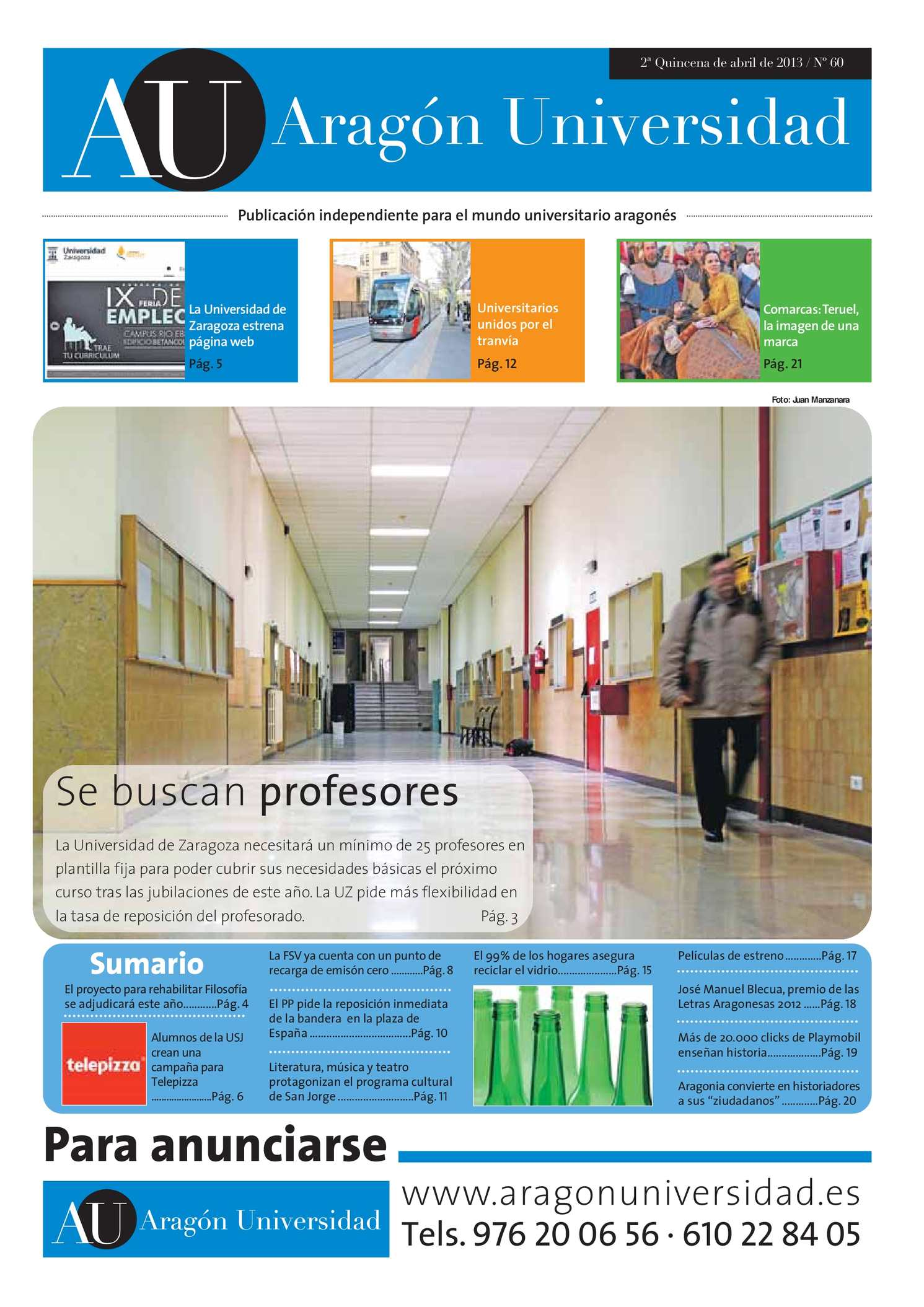 Calaméo - Aragón Universidad Nº 60