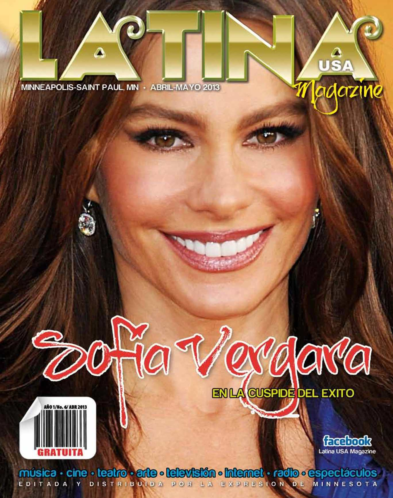 Latina USA Magazine No. 6