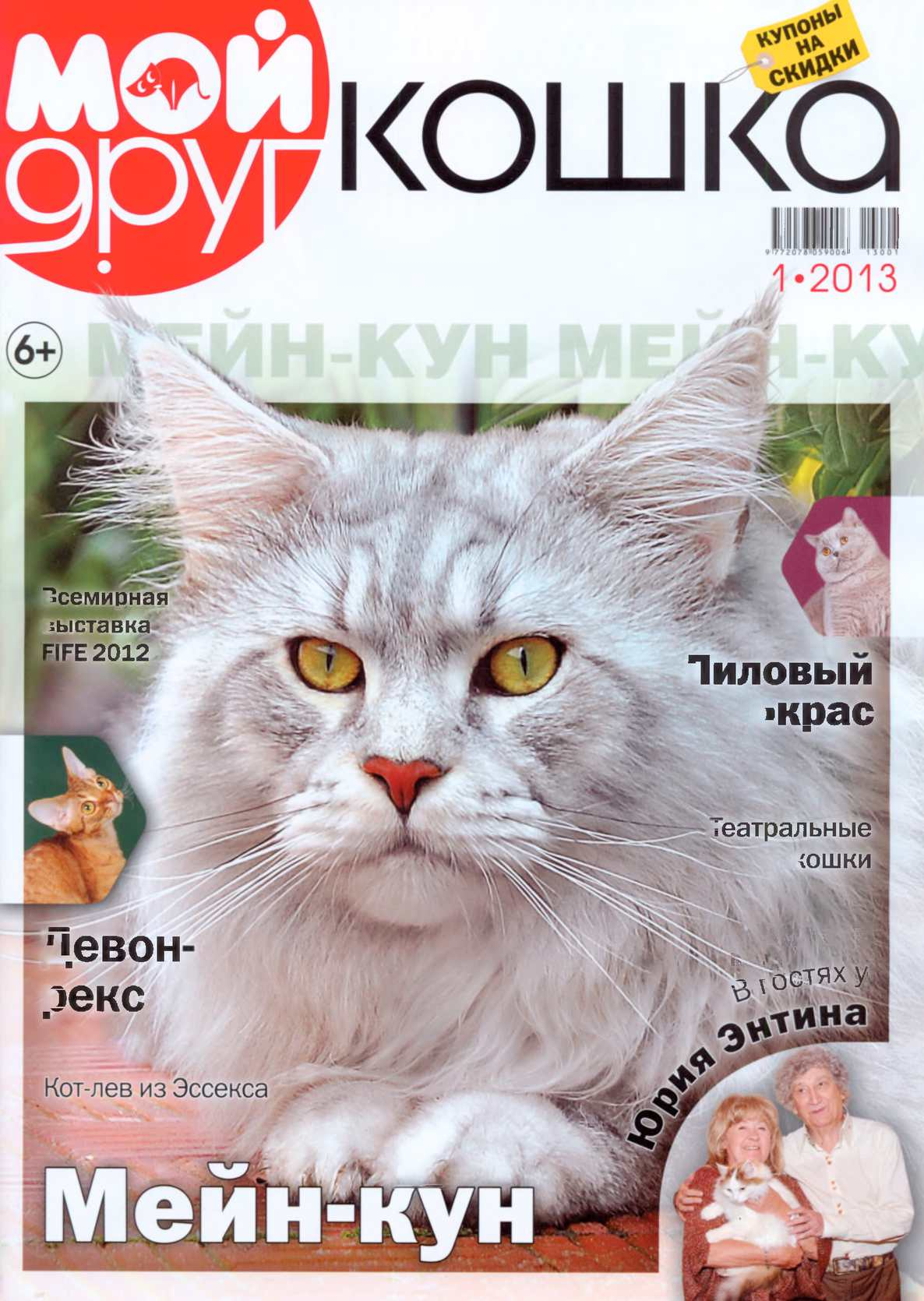 Calaméo - Мой друг кошка 2013 - №01 115141a8eea22