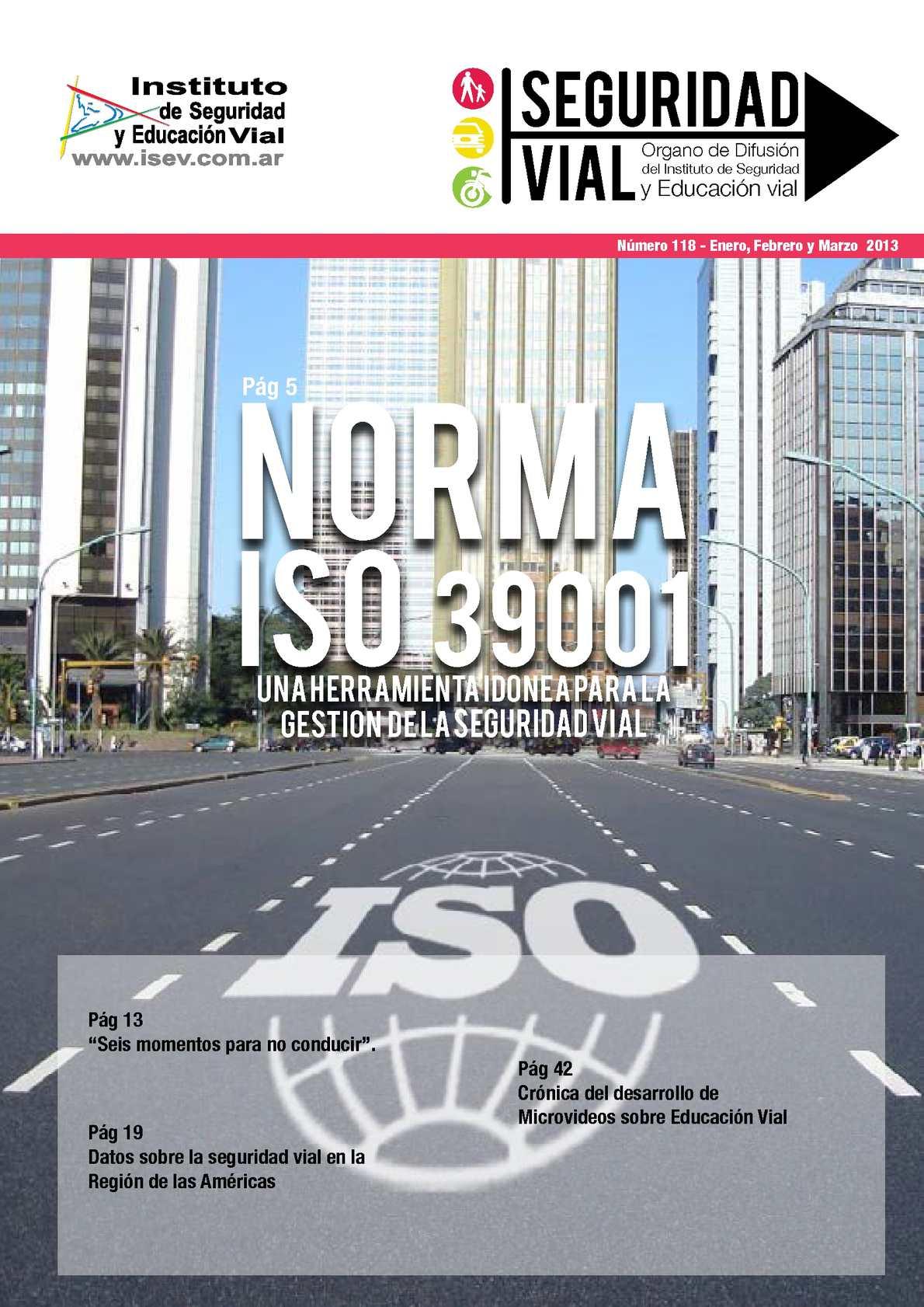 Revista SEGURIDAD VIAL Nro. 118