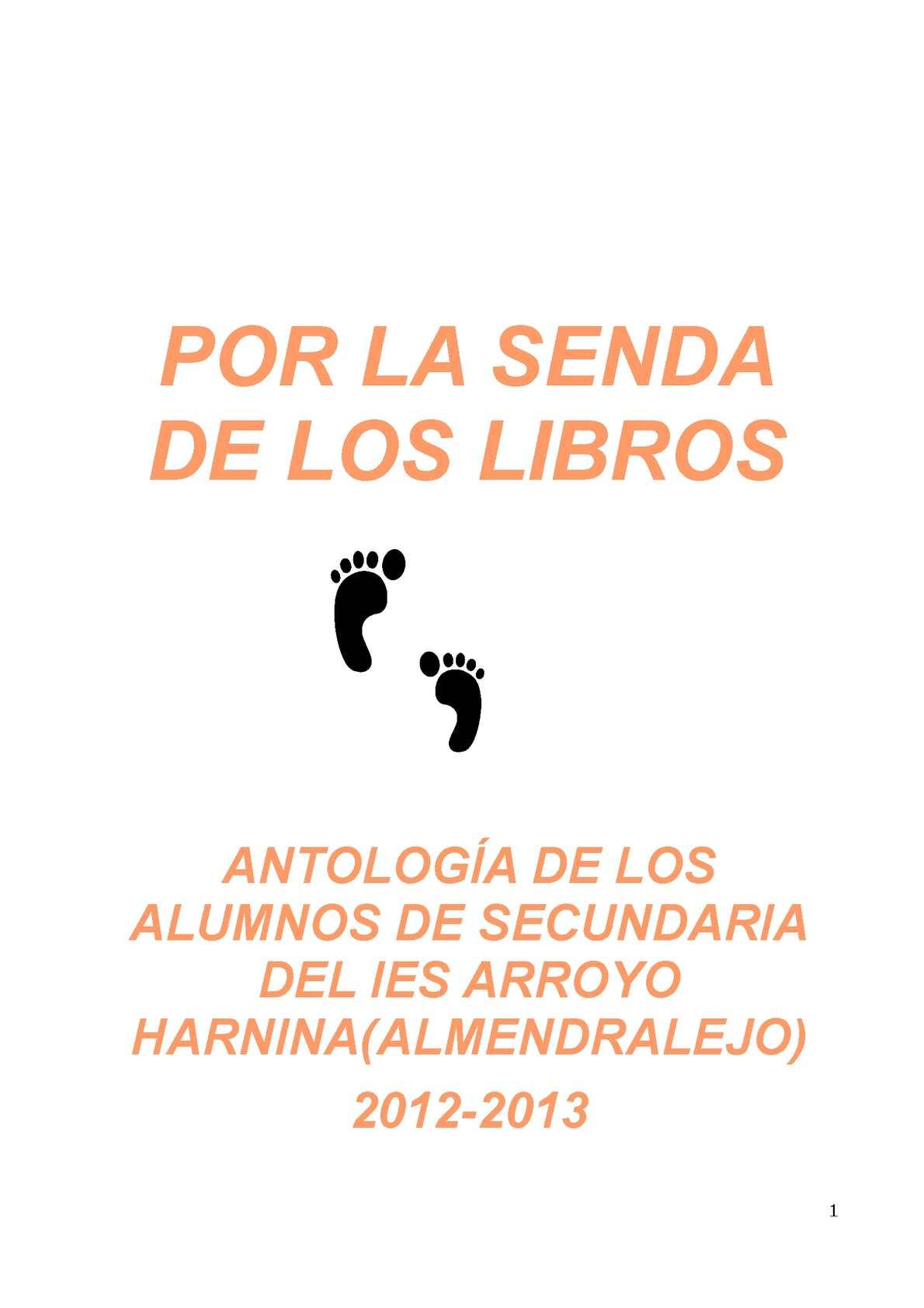 Calaméo - TRAS LAS SENDAS DE LOS LIBROS 2