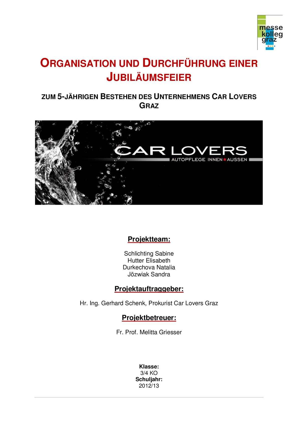 Calaméo - CARLOVERS Teil 1