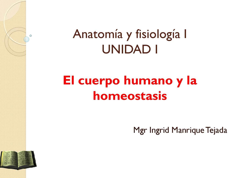 Calaméo - Clase 01 Anatomia y fisiologia y la homeostasis