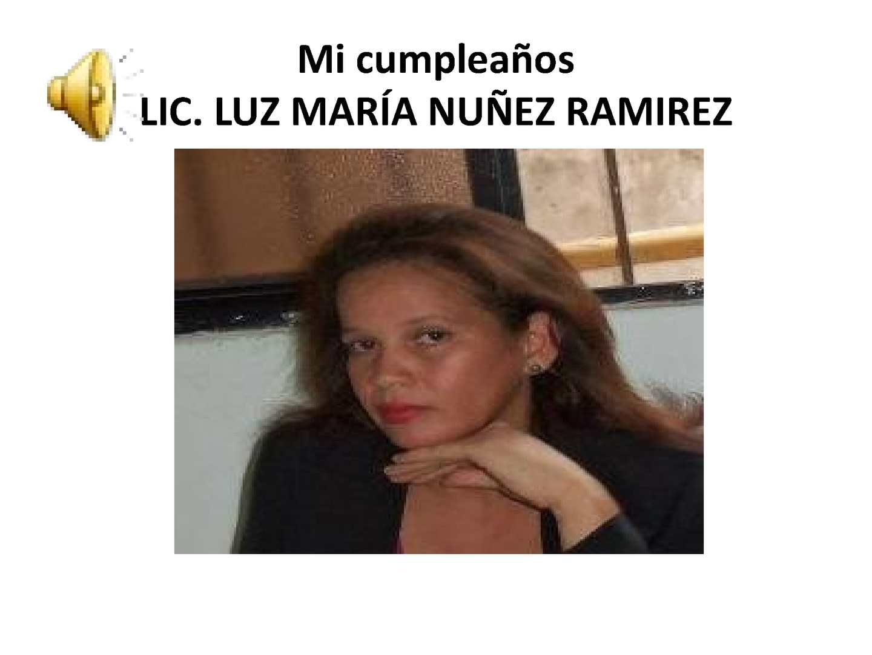 Luz Maria Nunez